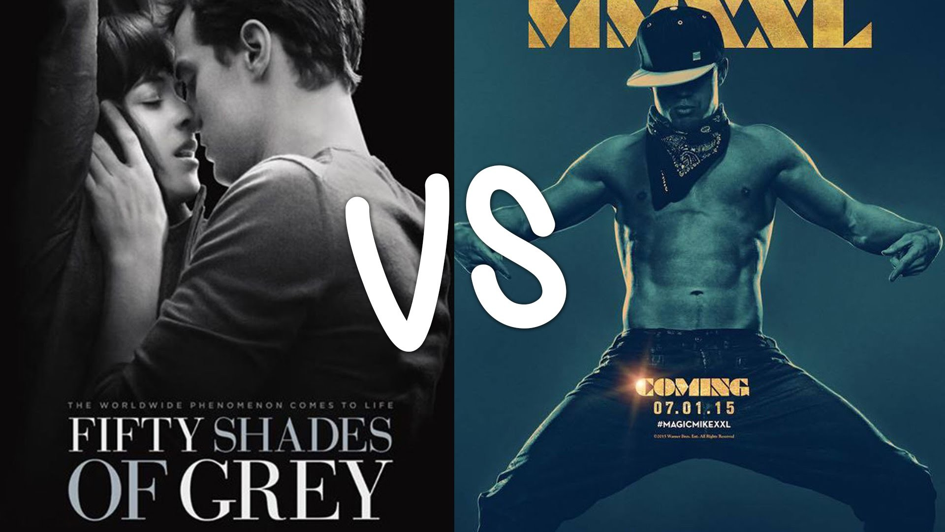Fifty Shades of Grey VS Magic Mike XXL At the Grammys