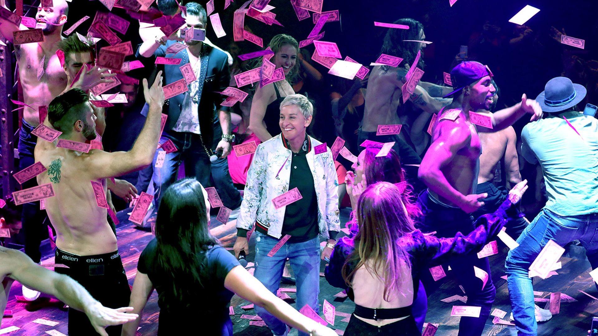 Watch Ellen Season 15 Ellen visits 'Magic Mike Live' with Channing Tatum!    9Now