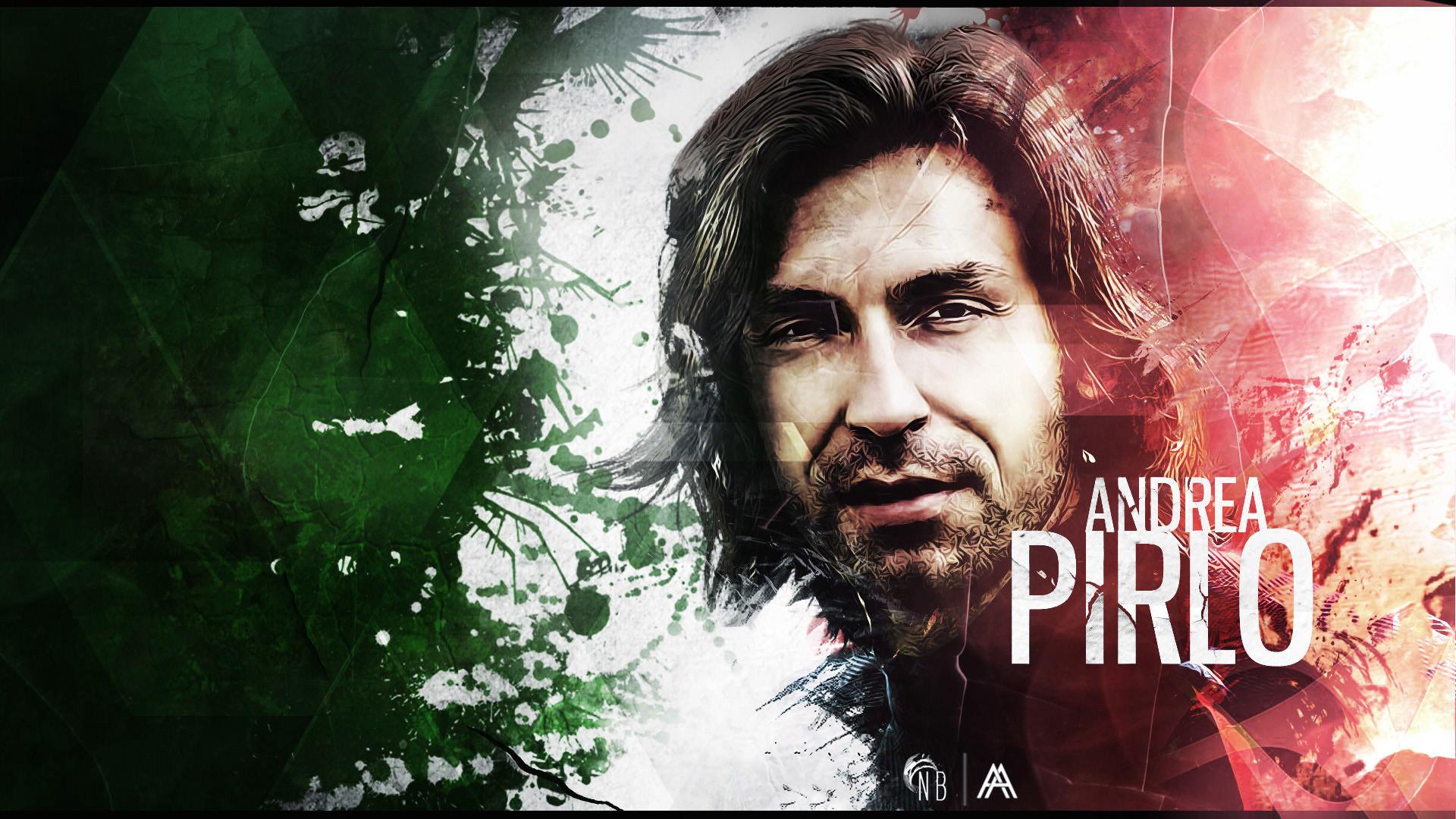 Andrea Pirlo Italy Legend Wallpaper