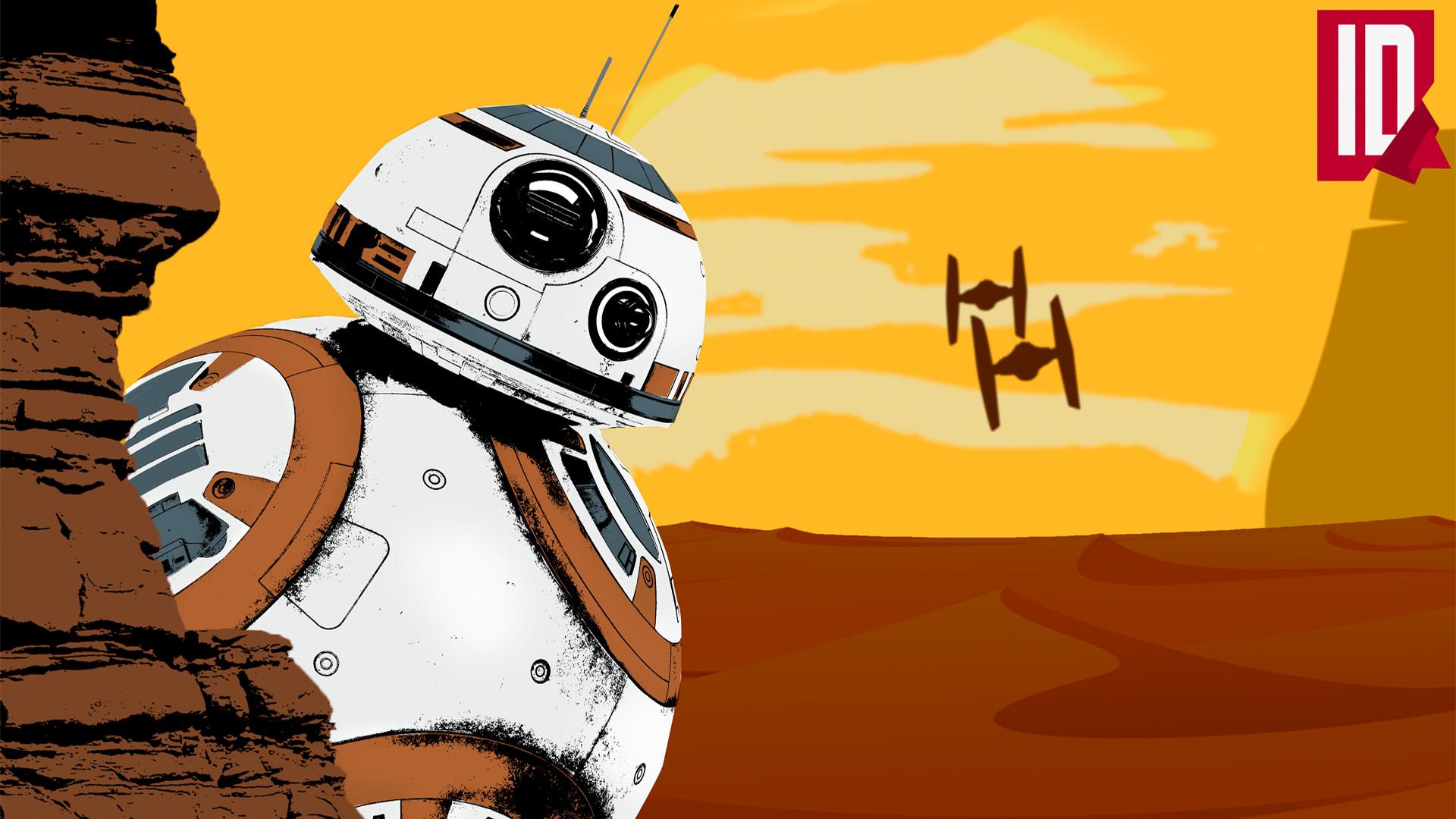 … IndividualDesign Star Wars BB-8 – Wallpaper by IndividualDesign