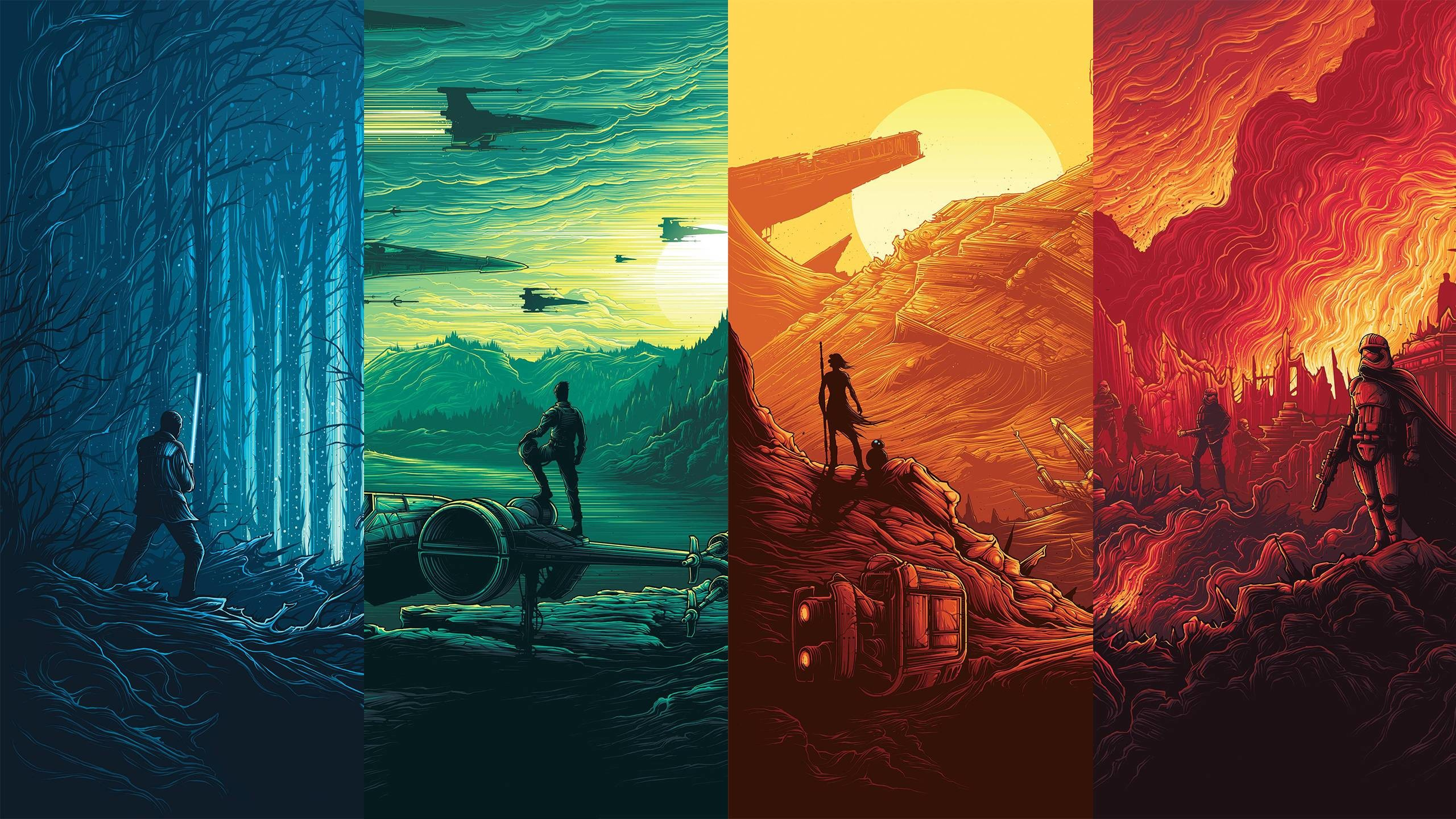 Tiny Star Wars Wallpaper collection.