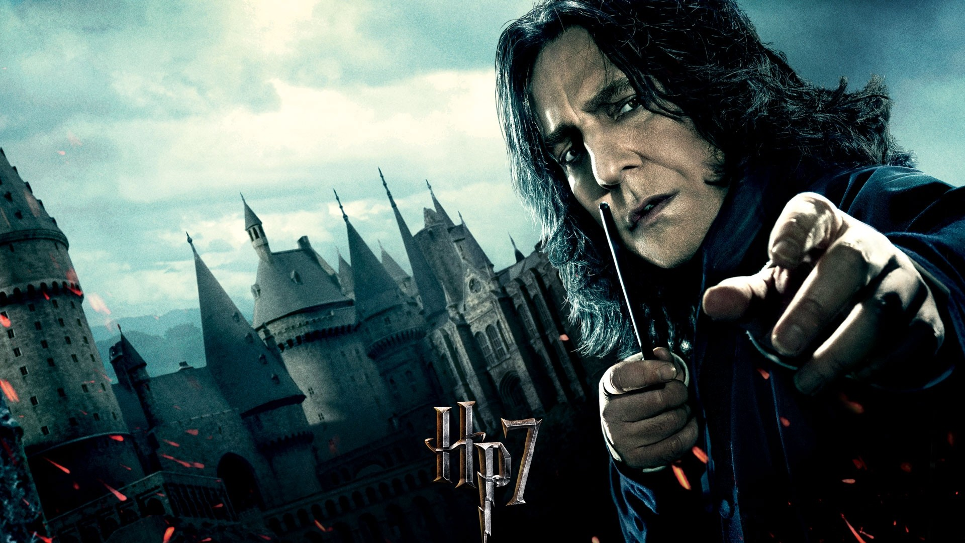Preview wallpaper harry potter and the deathly hallows, severus snape, alan  rickman 1920×1080