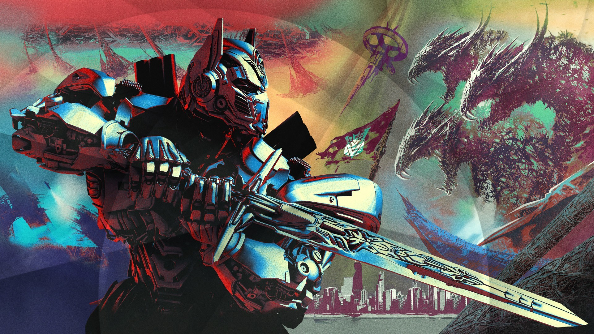 Wallpaper Optimus Prime, Transformers: The Last Knight, 2017 Movies,  Poster, 4K, 5K, Movies, #2209