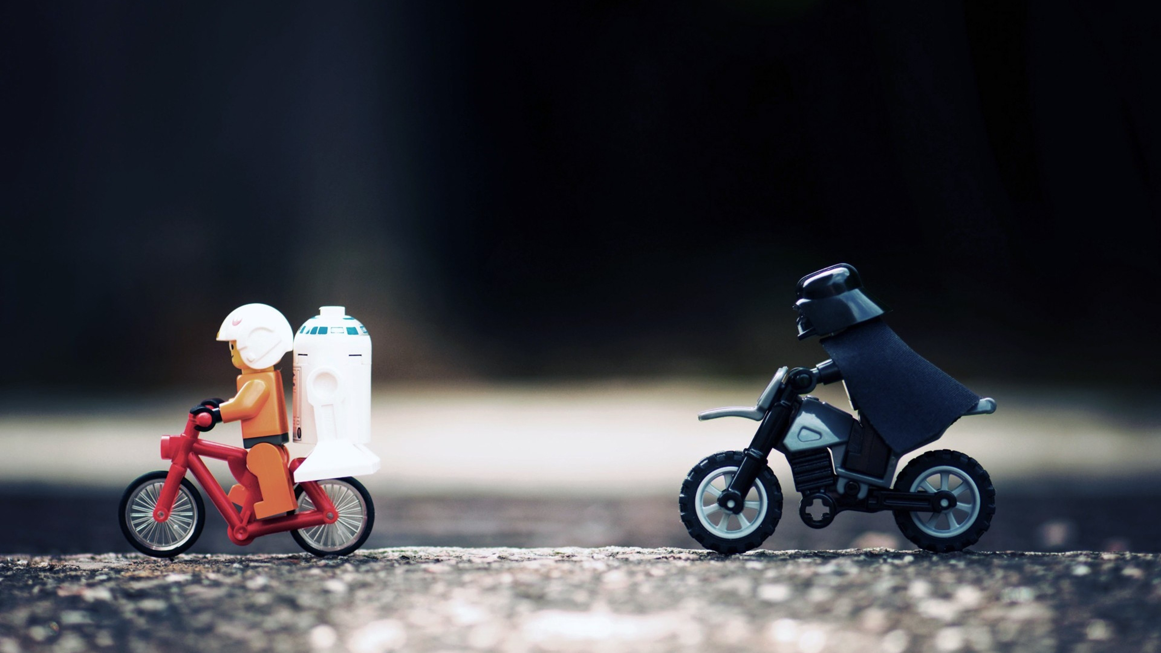 Preview wallpaper star wars, lego, hunt, toys 3840×2160