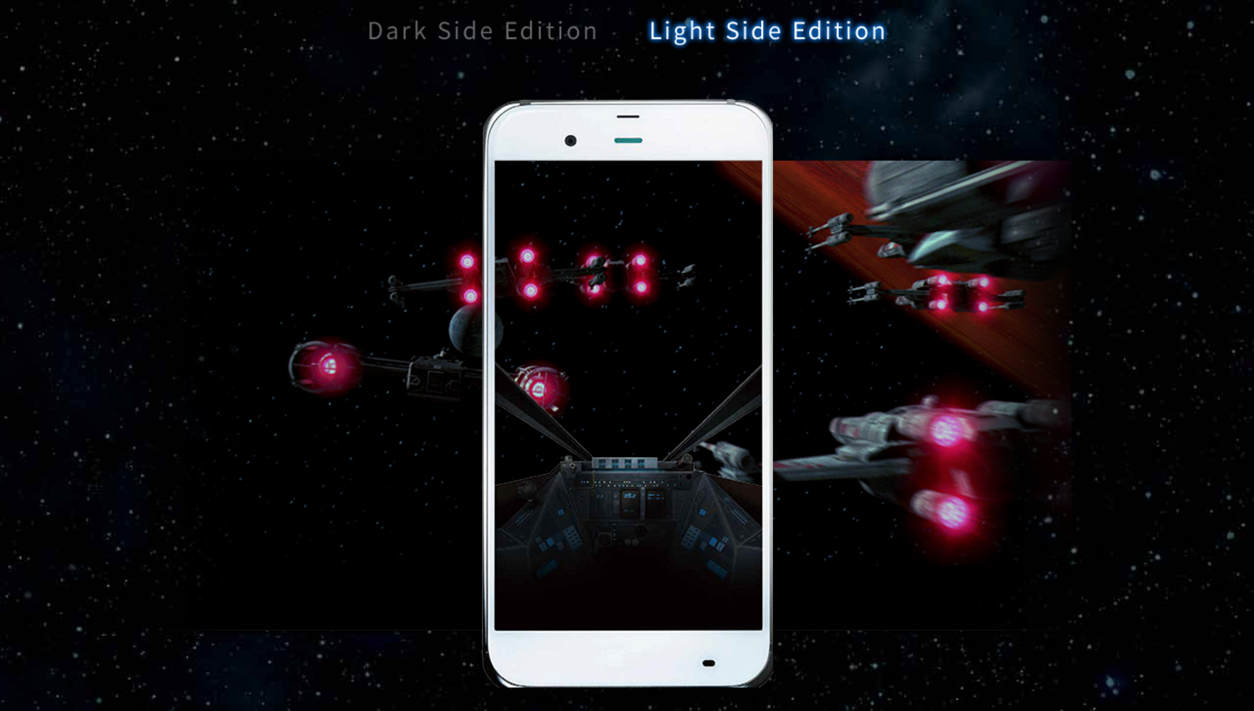 Sharp's extremely Star Wars-themed phone for Japan has custom live wallpaper,  apps, more | 9to5Google