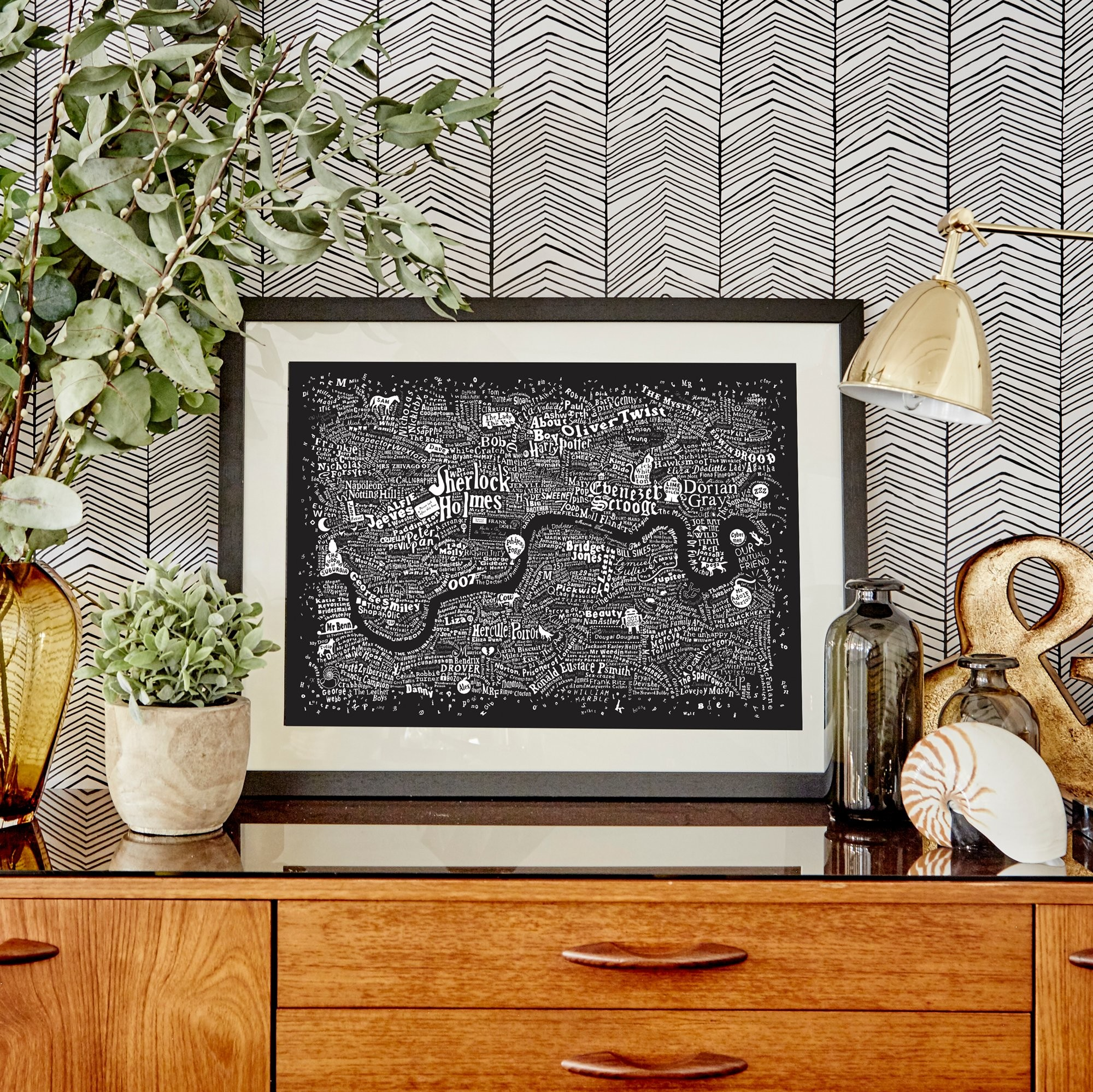 Home Run For The Hills . Sherlock Living Room Wallpaper Sherlock Apartment  Theapartment