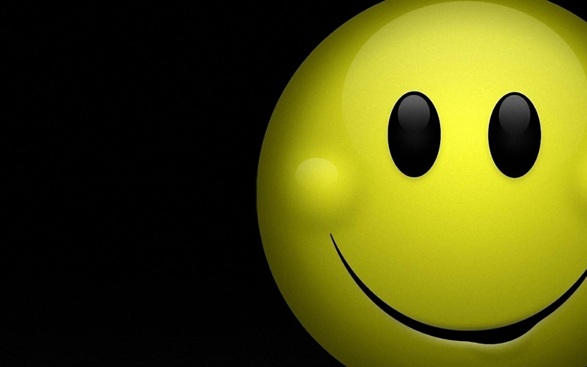 Smiley Face On Blue Wallpaper Images Wallpaper   WallpaperLepi