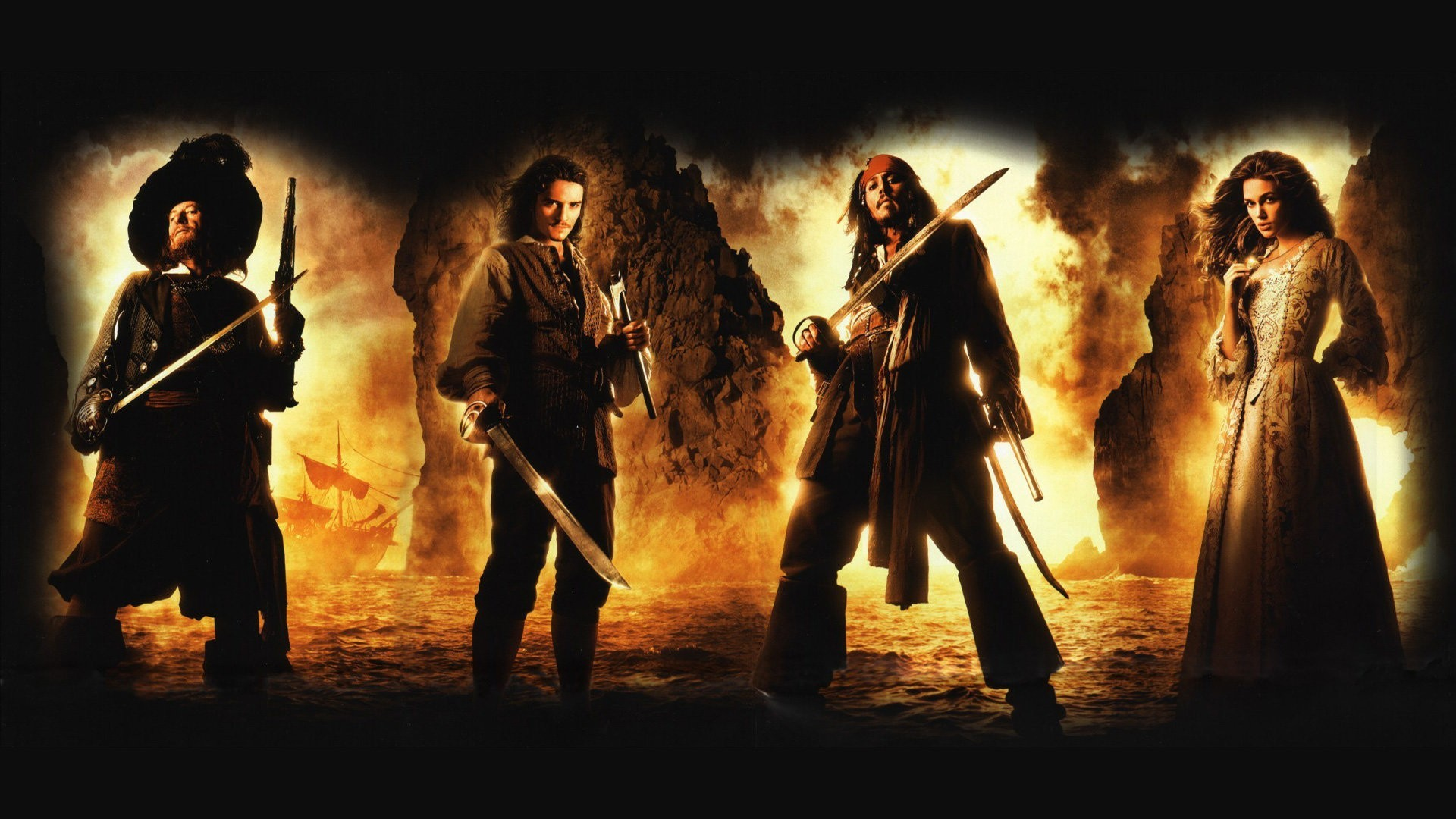 Pirates Of The Caribbean high definition wallpapers