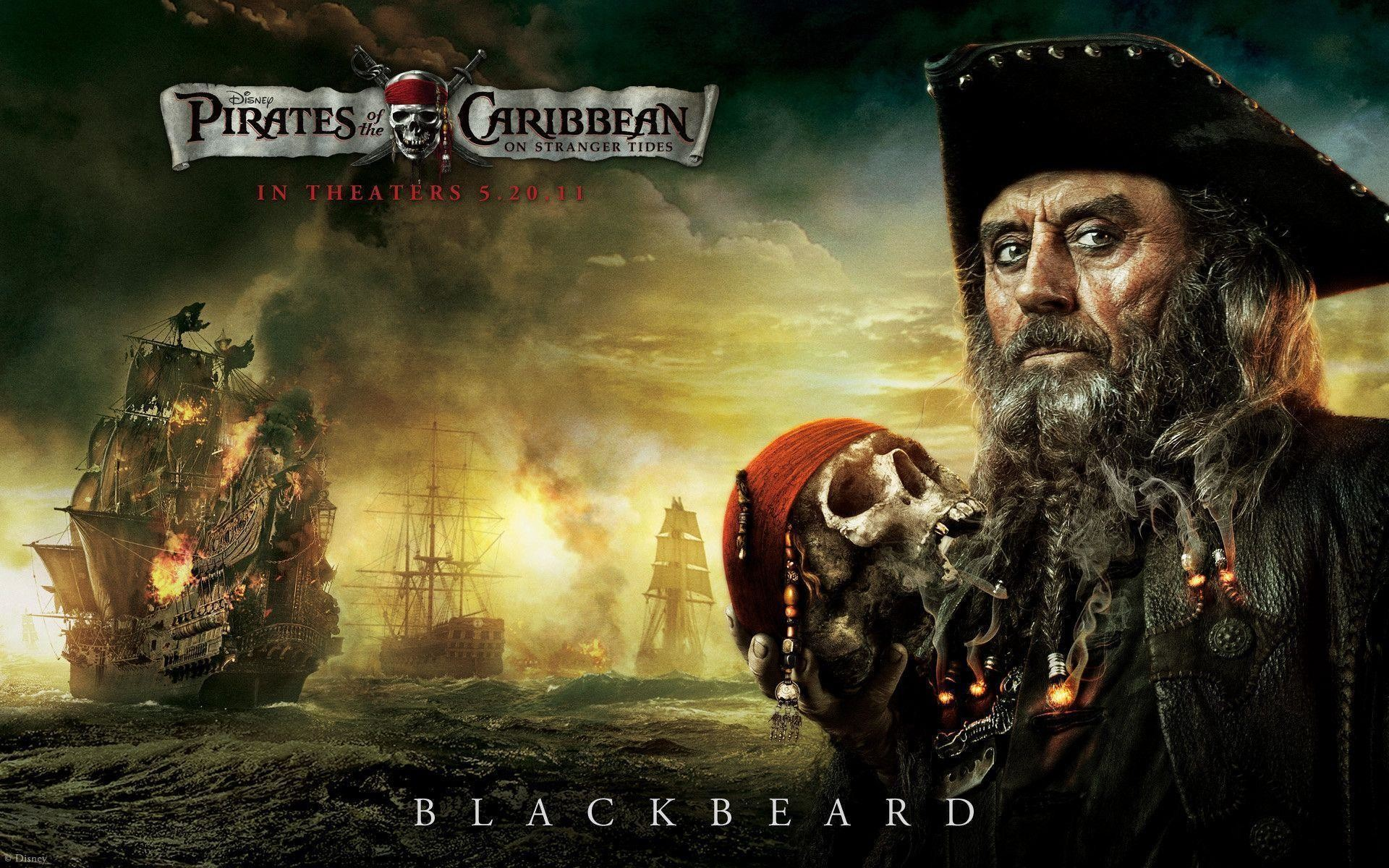 blackbeards ship in pirates of the caribbean 4 hdtv wallpapers and .