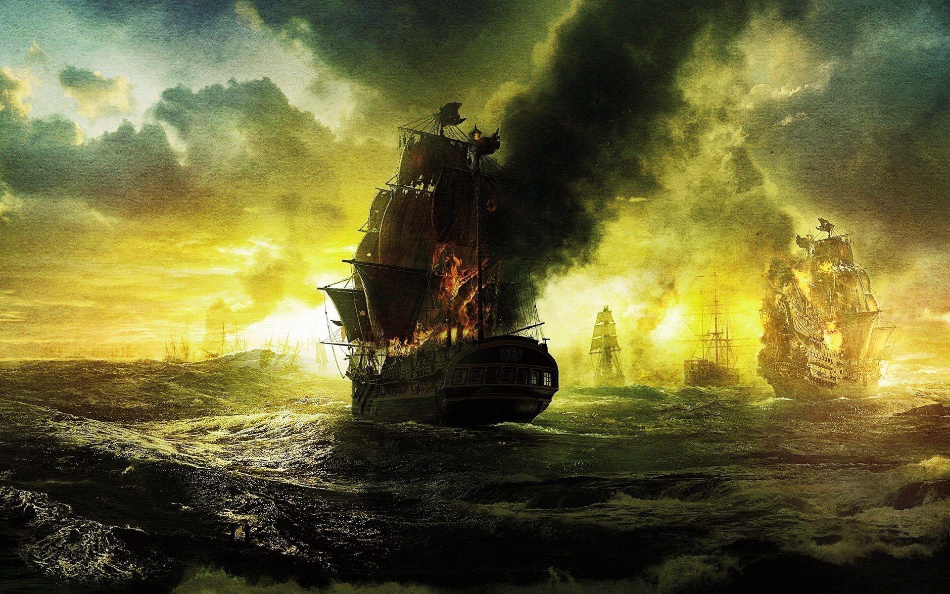 Desktop pirates of the caribbean ship images download