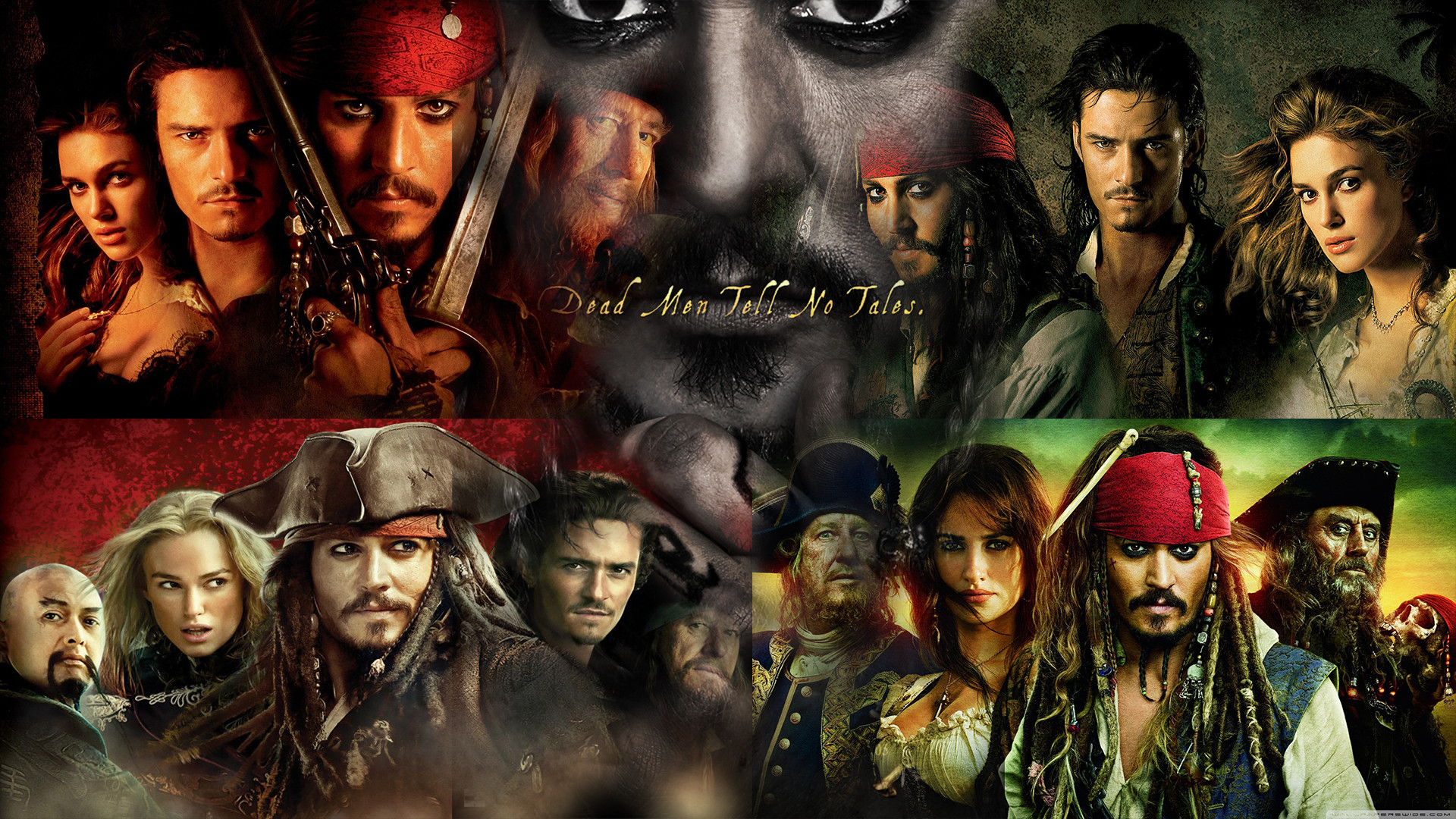 … Pirates of the Caribbean 1-5 Wallpaper by The-Dark-Mamba-995