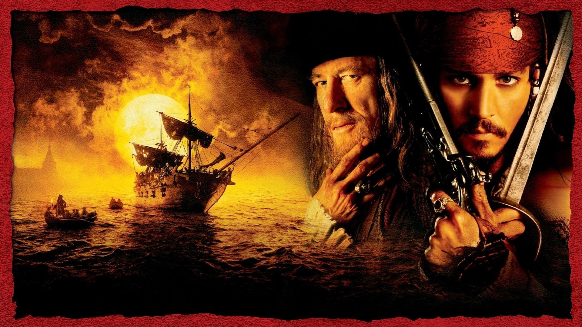 Pirates Of The Caribbean Wallpapers Wallpaper