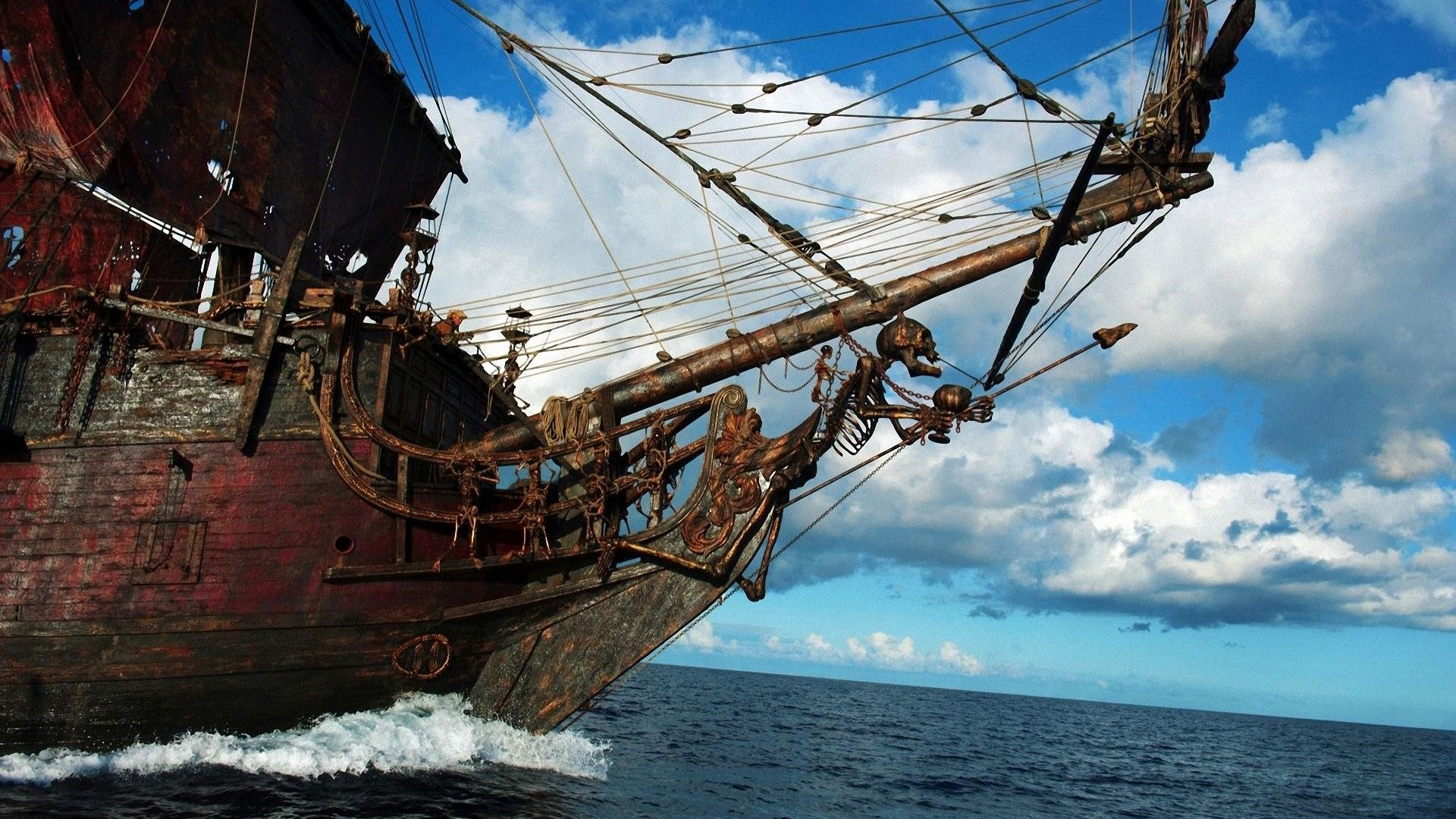 Pirates Of The Caribbean On Stranger Tides Ship wallpaper – 457040