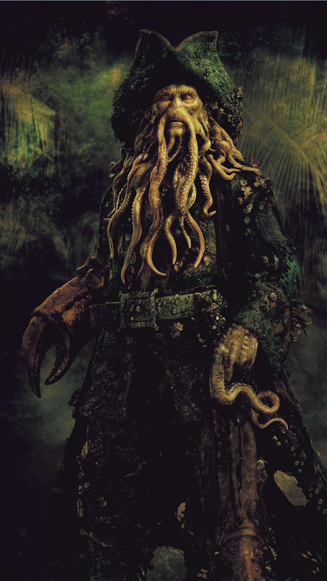Davy Jones – Pirates of the Caribbean Wallpaper