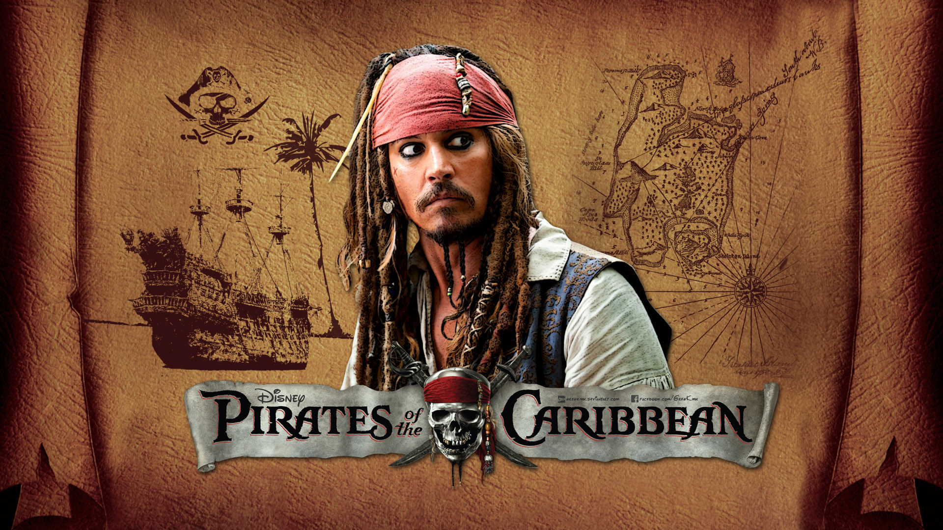 … Pirates of the Caribbean Wallpaper by GregKmk