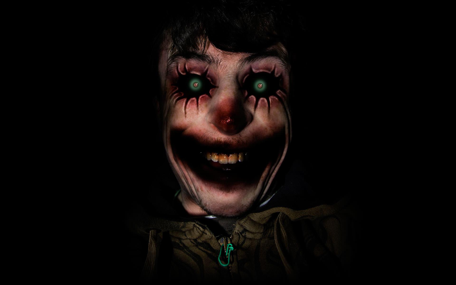 Terror, but it's just a clown.