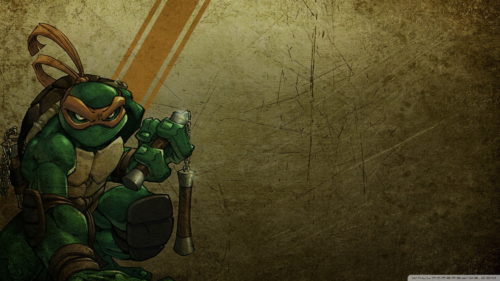 Michelangelo Teenage Mutant Ninja Turtles HD desktop wallpaper   HD  Wallpapers   Pinterest   Wallpaper, Hd desktop and Michelangelo