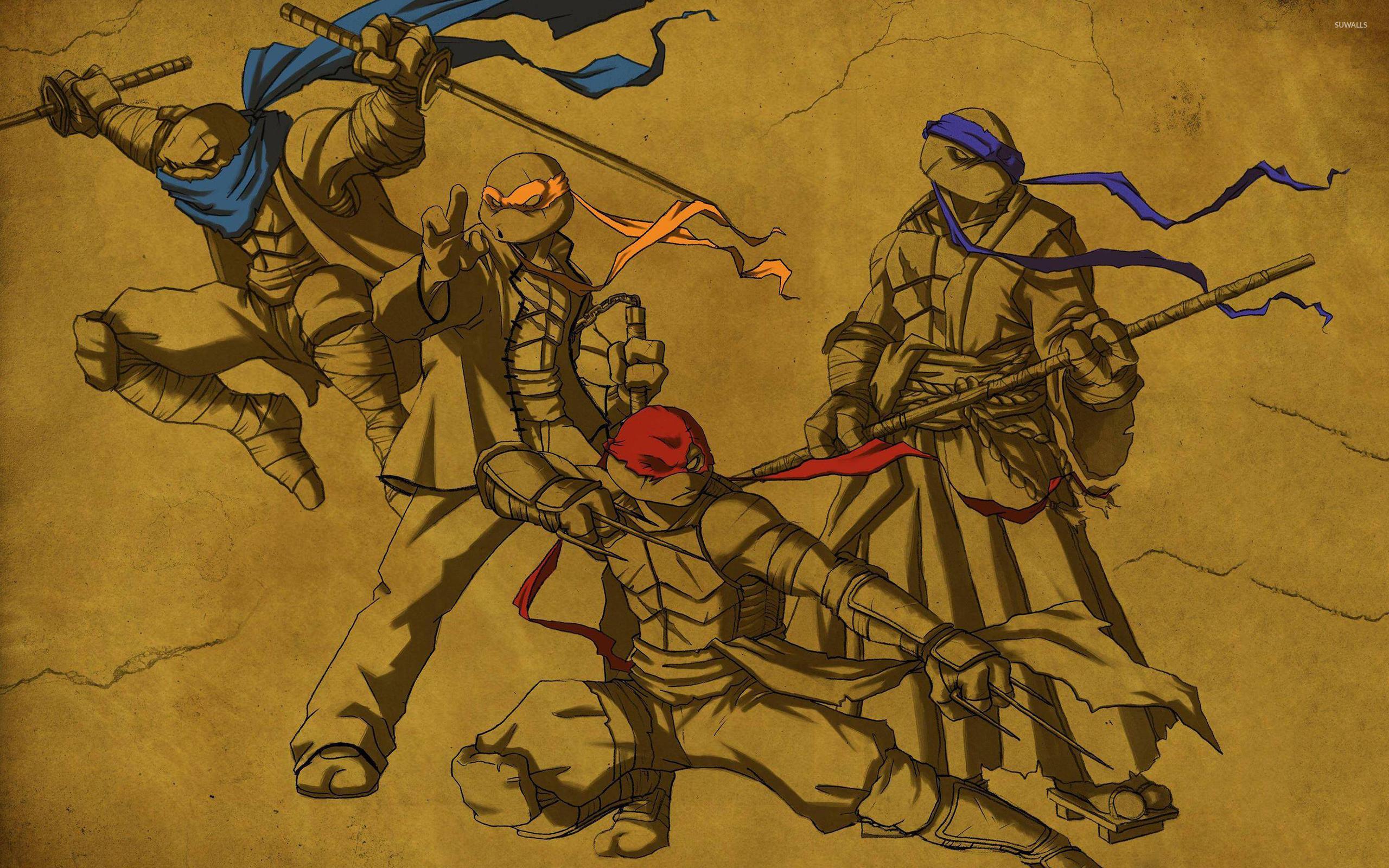 Ninja Turtles Wallpaper For Android With A Bright Color Ninja · NinjasTeenage  Mutant …