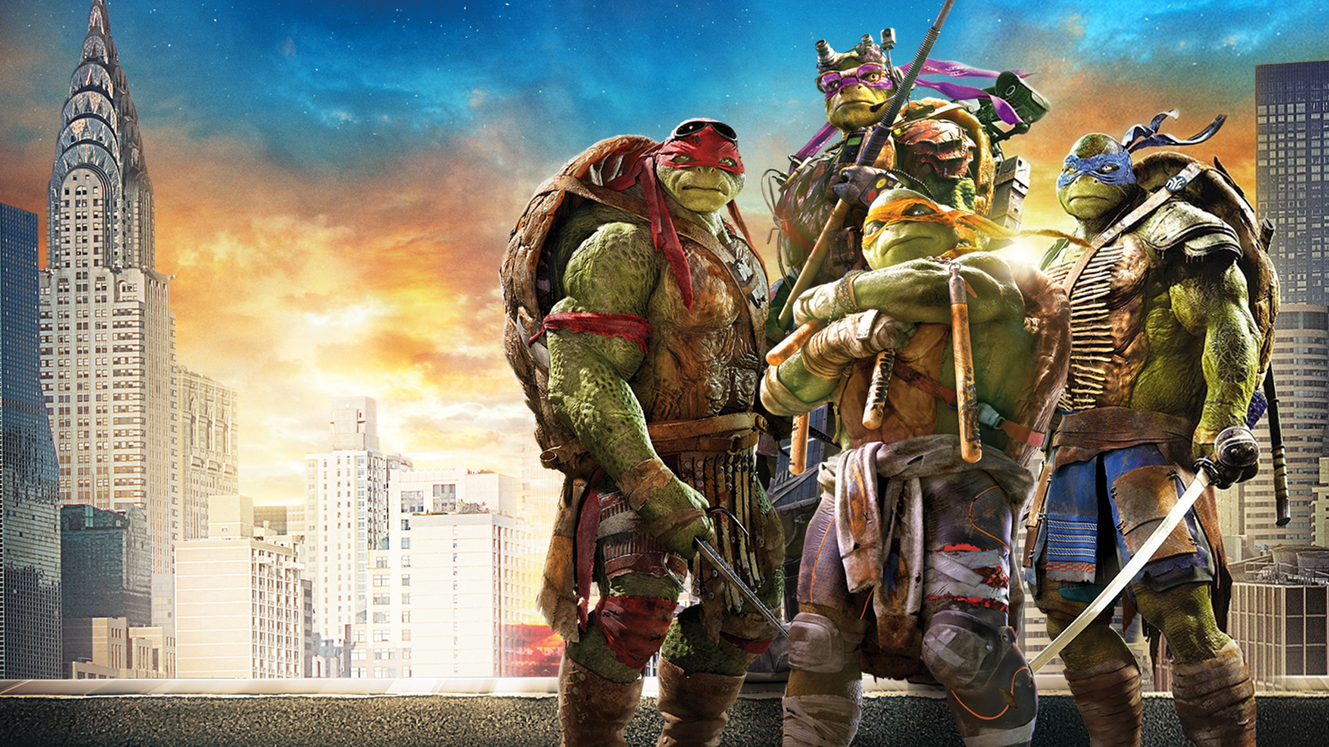… Teenage Mutant Ninja Turtles Wallpaper by sachso74