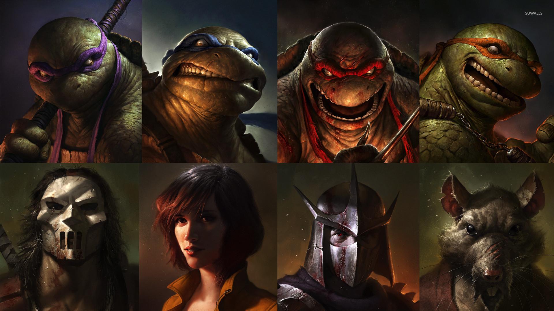 Teenage Mutant Ninja Turtles wallpaper jpg