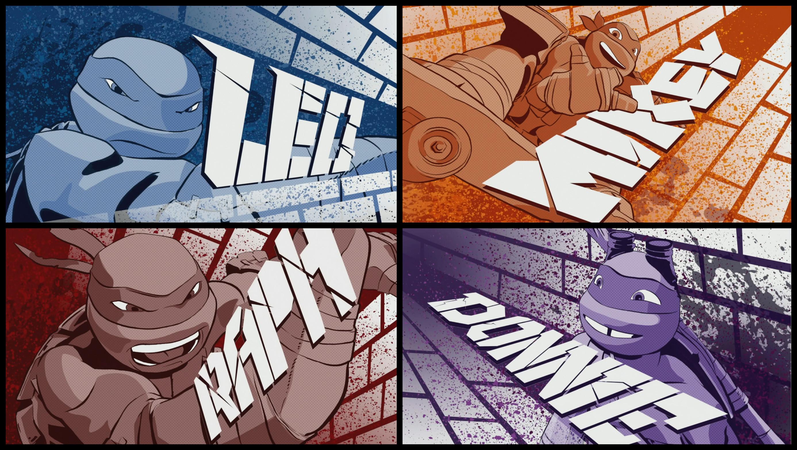 2 Teenage Mutant Ninja Turtles HD Wallpapers   Backgrounds – Wallpaper Abyss