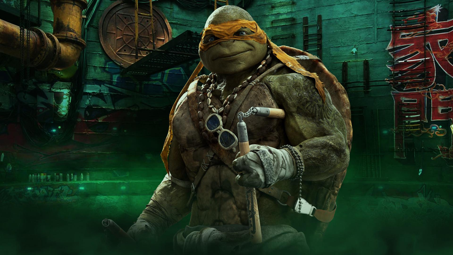 teenage mutant ninja turtles wallpaper michelangelo 27345poster.jpg