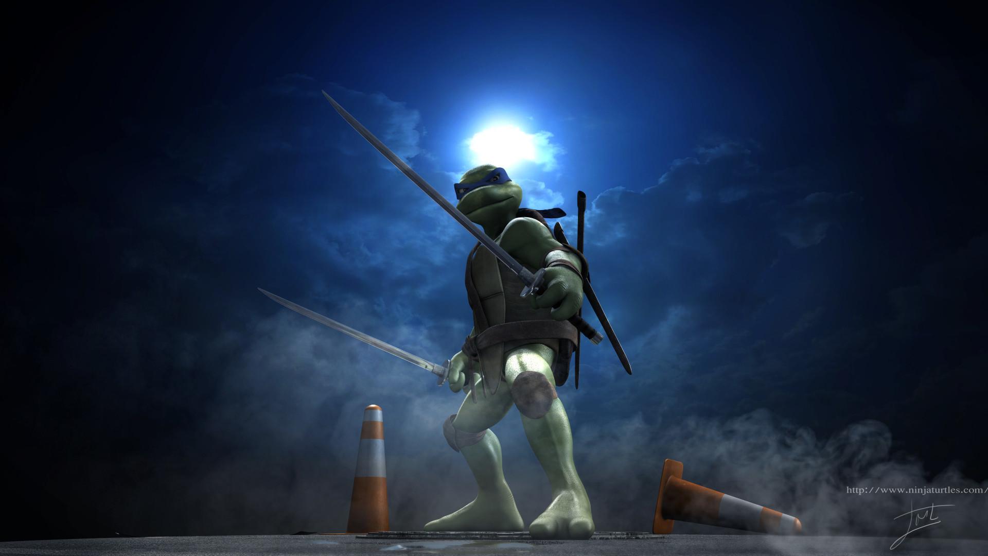 teenage mutant ninja turtles wallpaper leonardo 27340poster.jpg