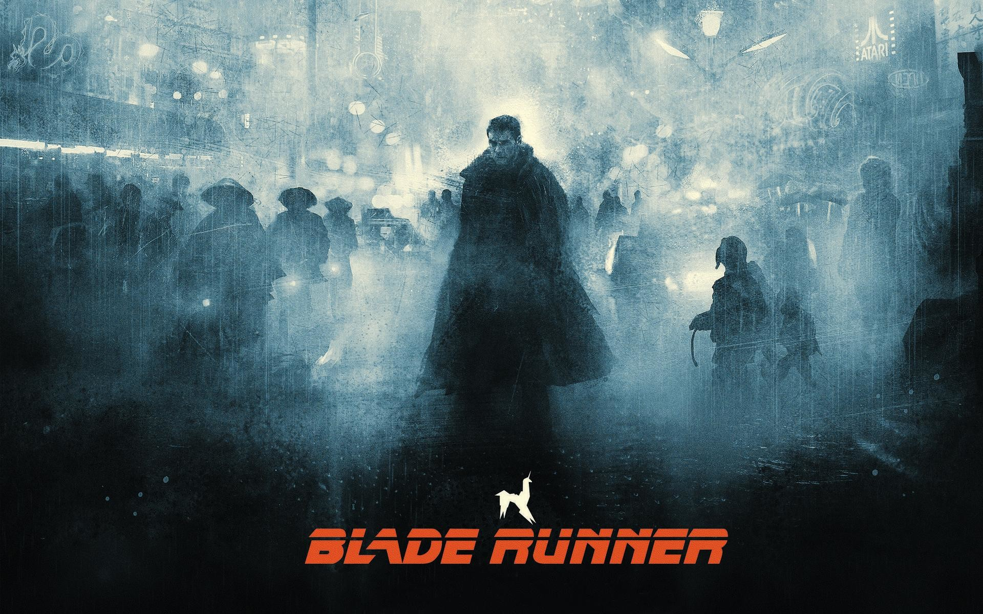 Poster by Karl Fitzgerald – Blade Runner