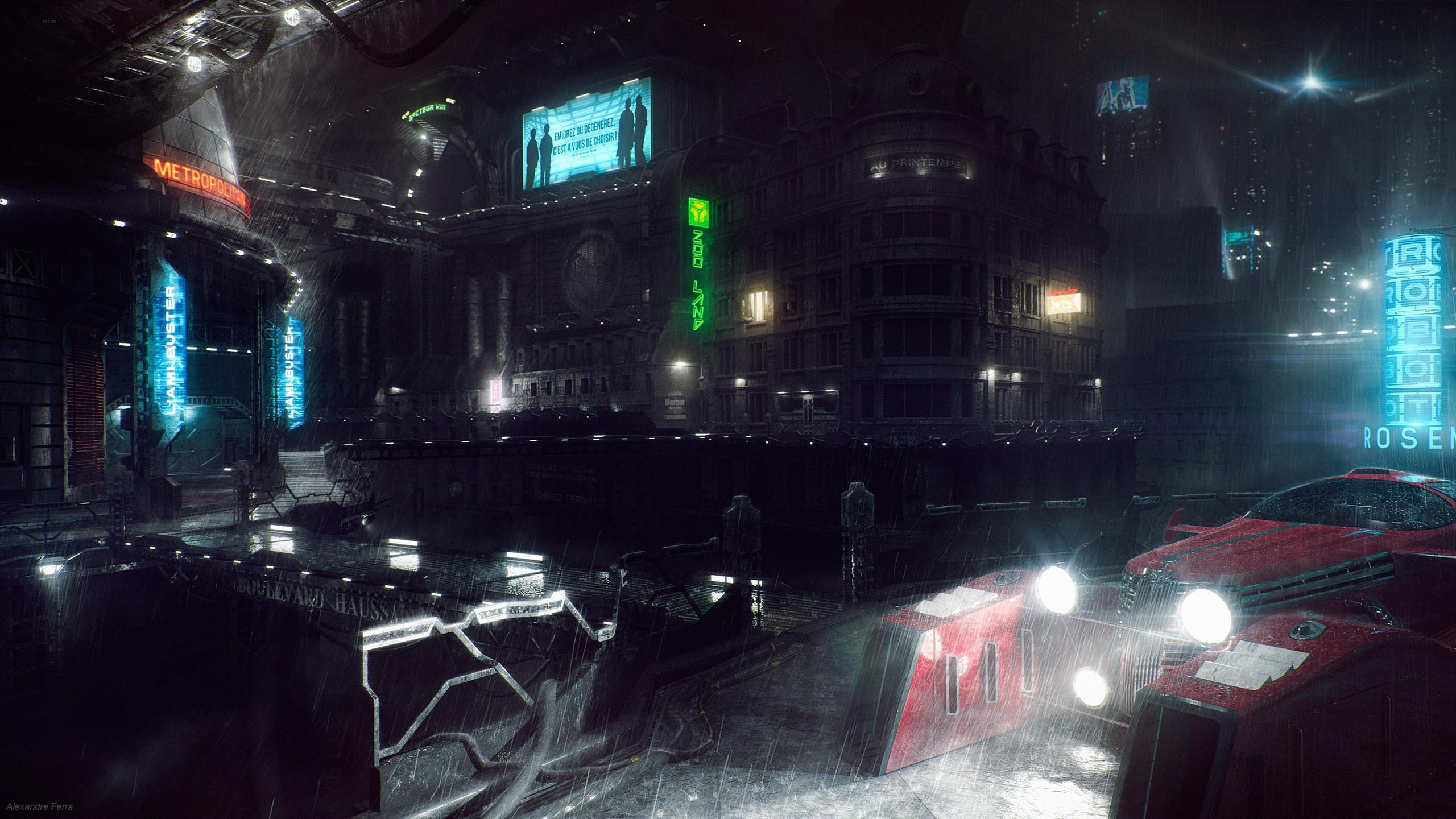 Sci Fi – City Wallpaper