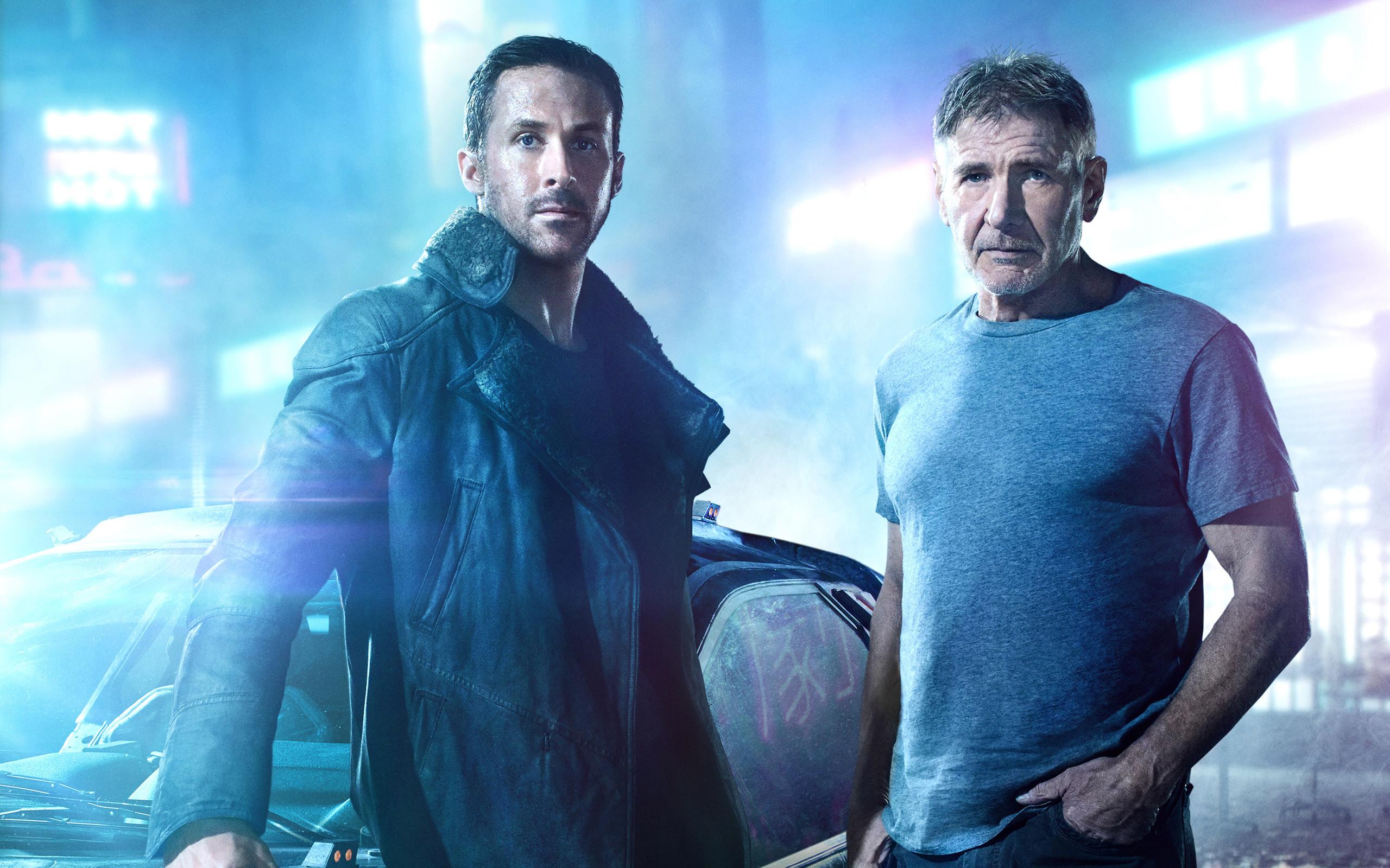 Blade Runner 2049 Ryan Gosling Harrison Ford