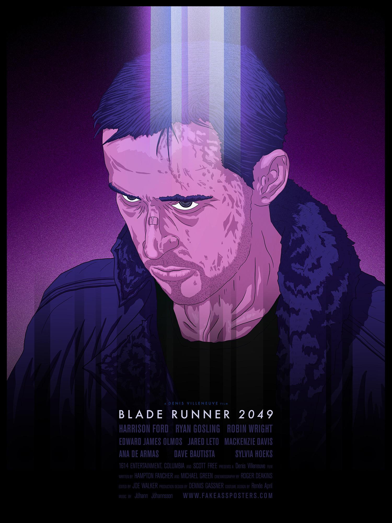 Blade Runner 2049 (2017) – hand drawn. HD Wallpaper From Gallsource.com