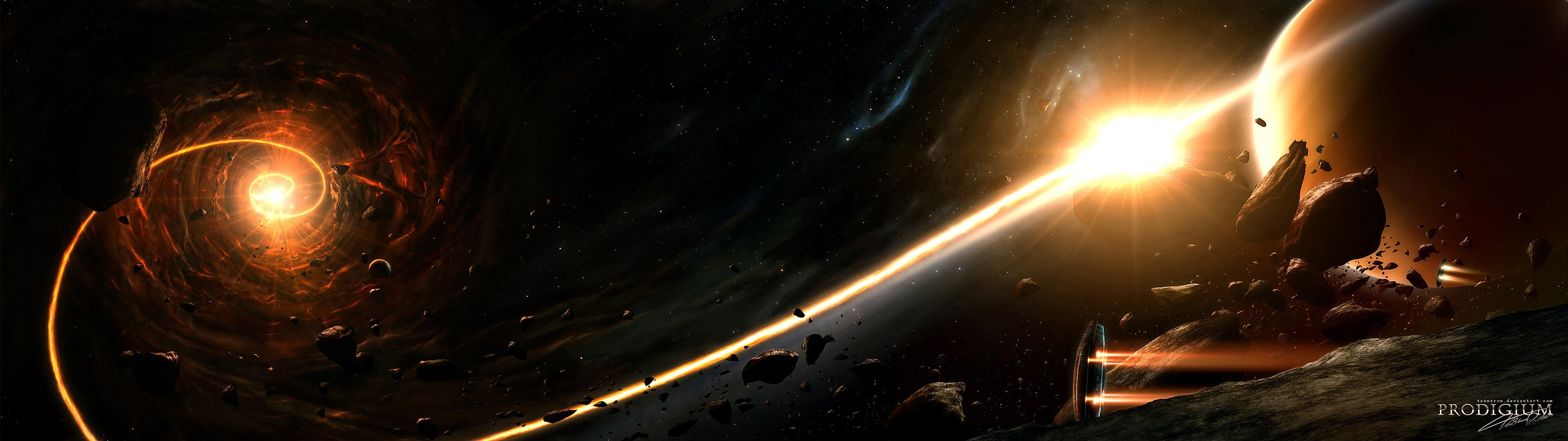 Sunrise outer space planets wallpaper | | 329246 .