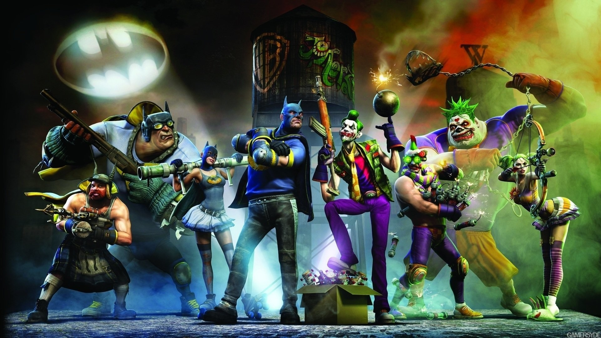 HD Wallpaper | Background ID:218363. Video Game Gotham City  Impostors