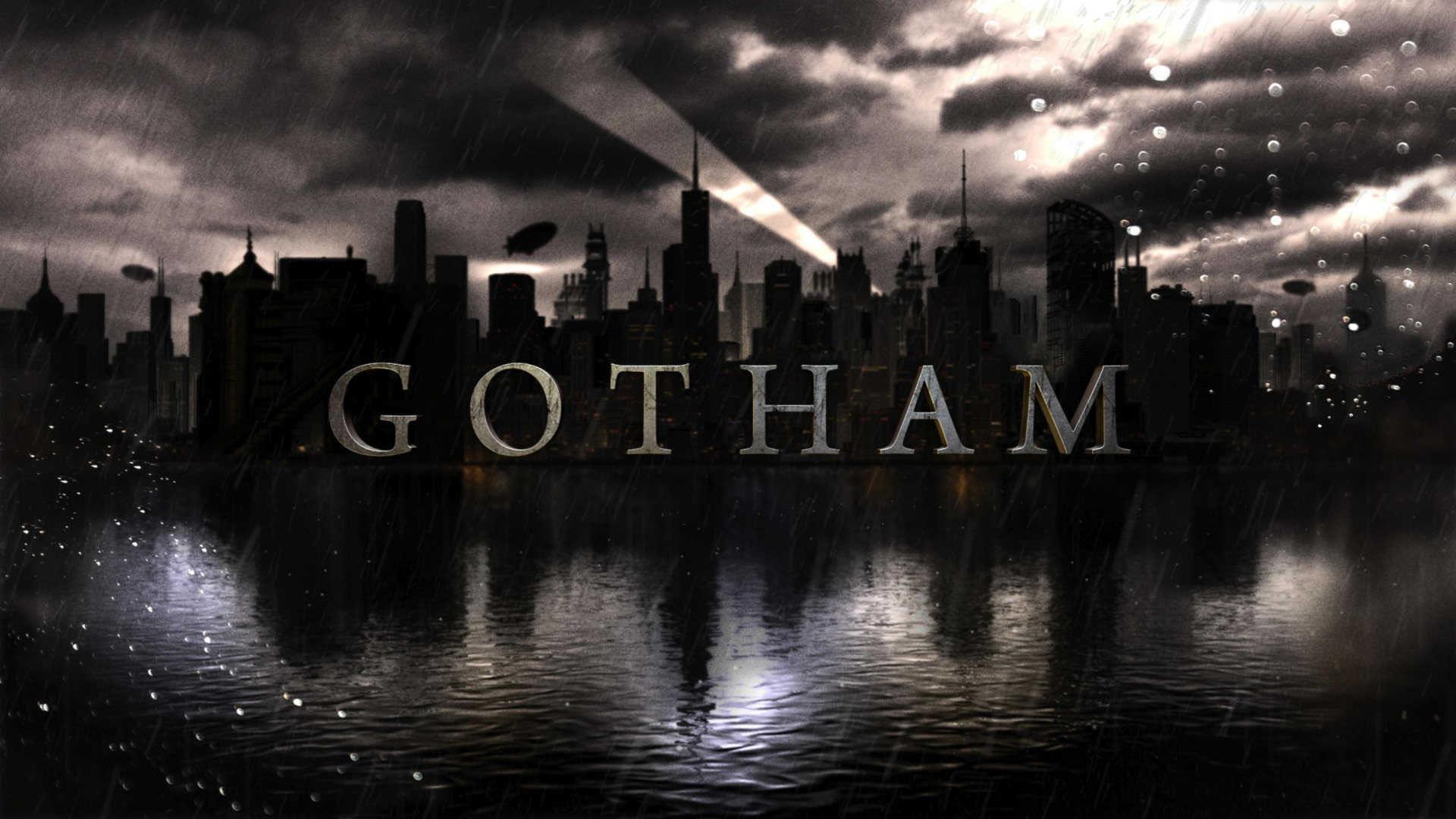 Gotham City by Night wallpaper