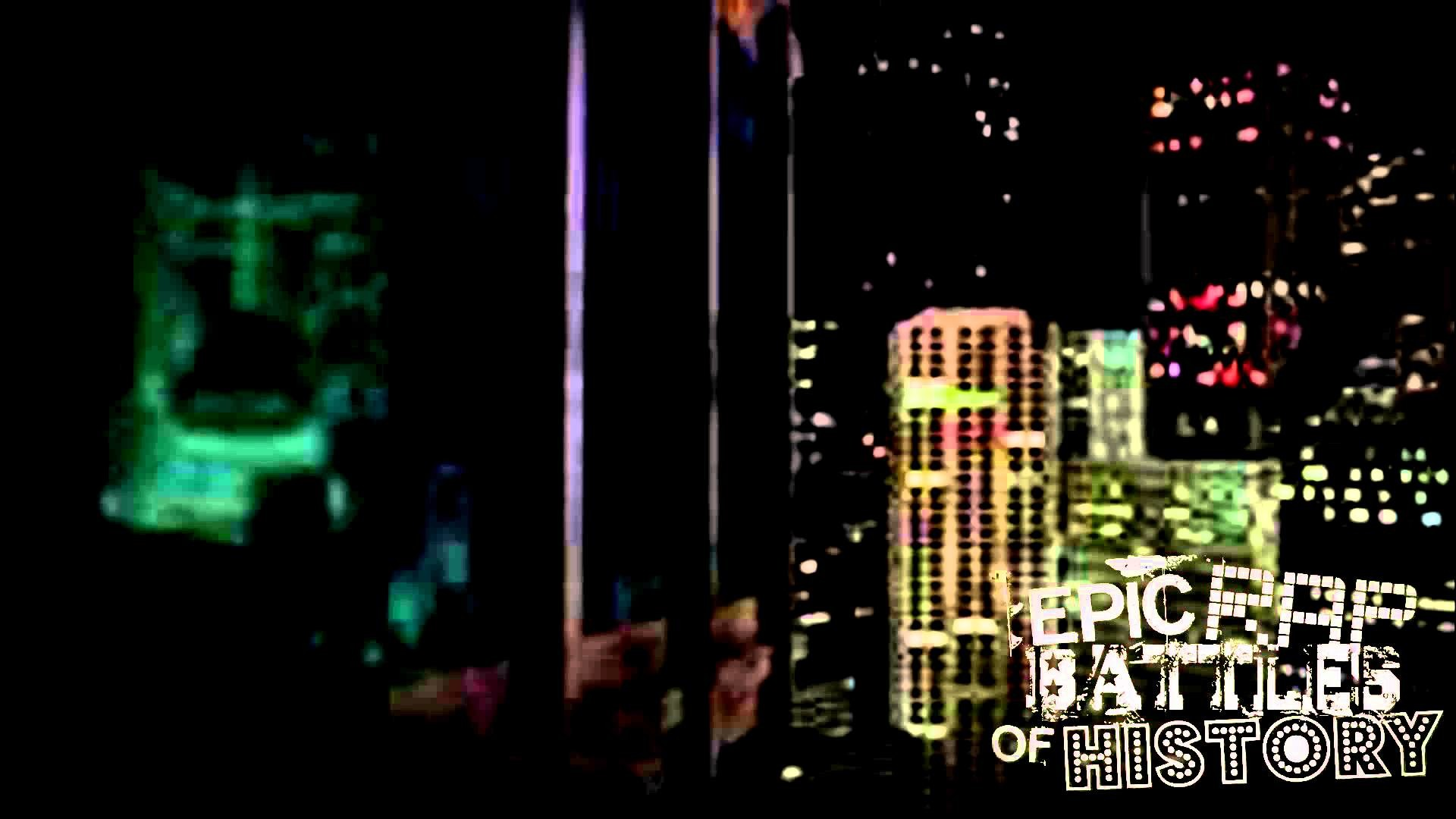 [Background] Gotham City Building Side (Batman and Robin)