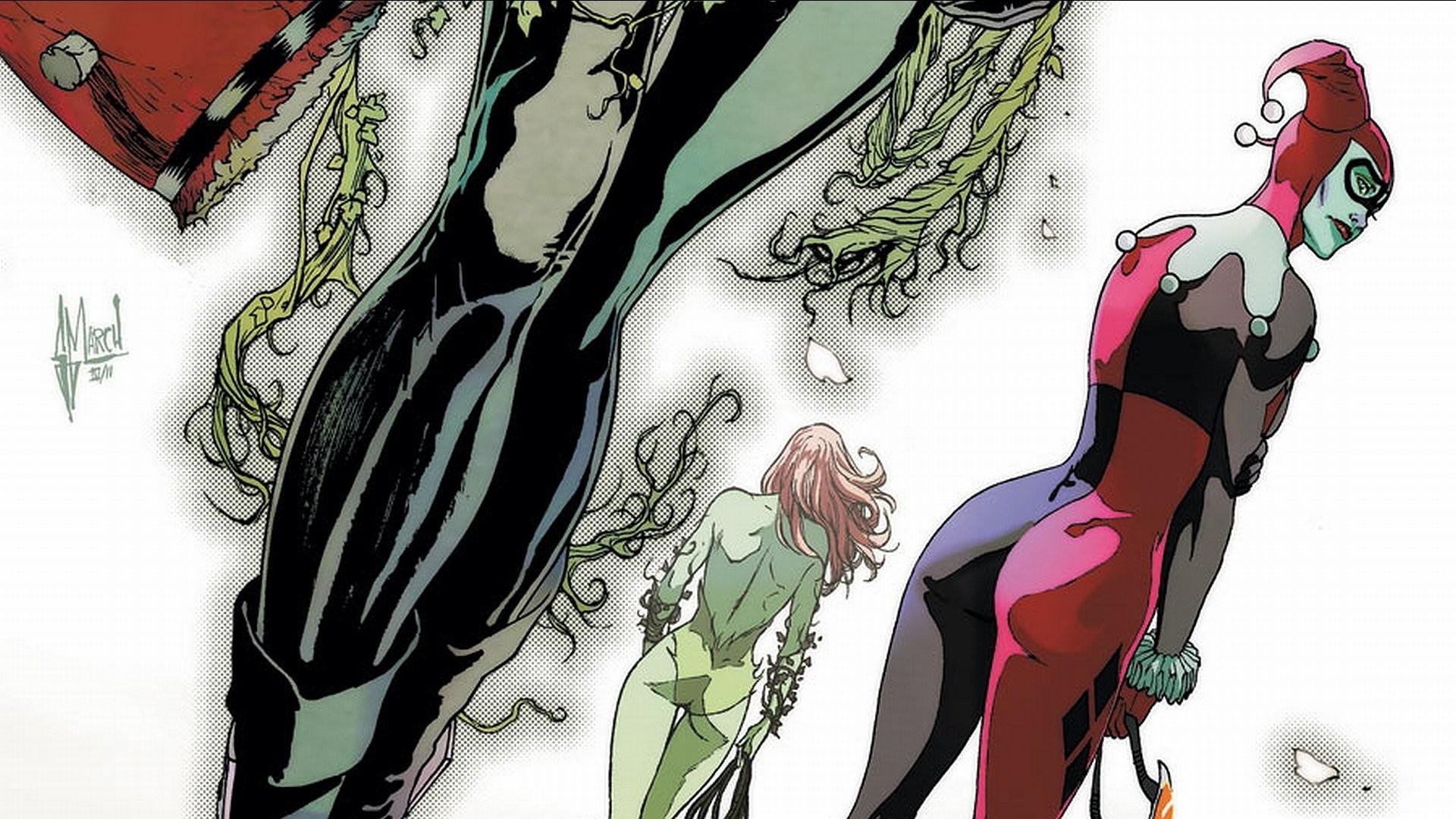 HD Wallpaper | Background ID:166323. Comics Gotham City Sirens