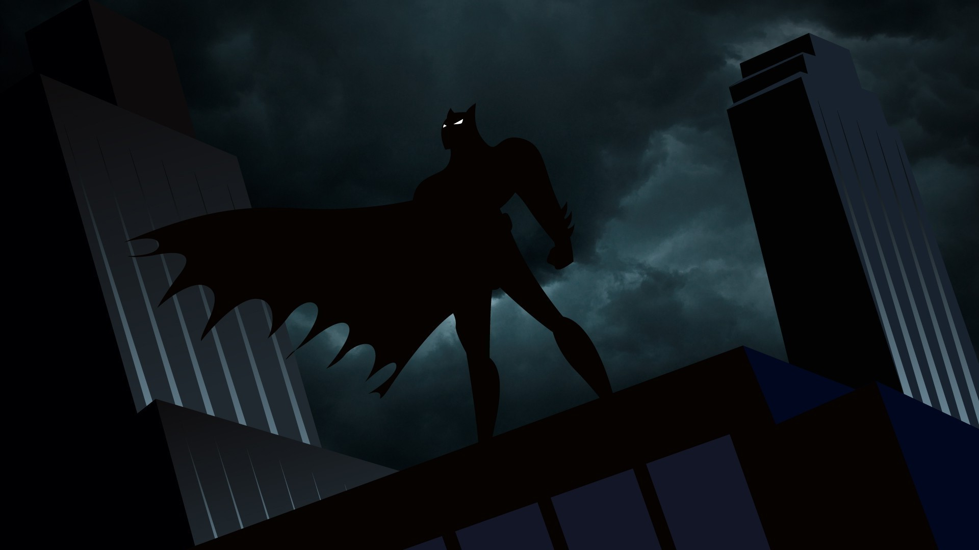 Batman, Animated Series, Gotham City Wallpapers HD / Desktop and Mobile  Backgrounds