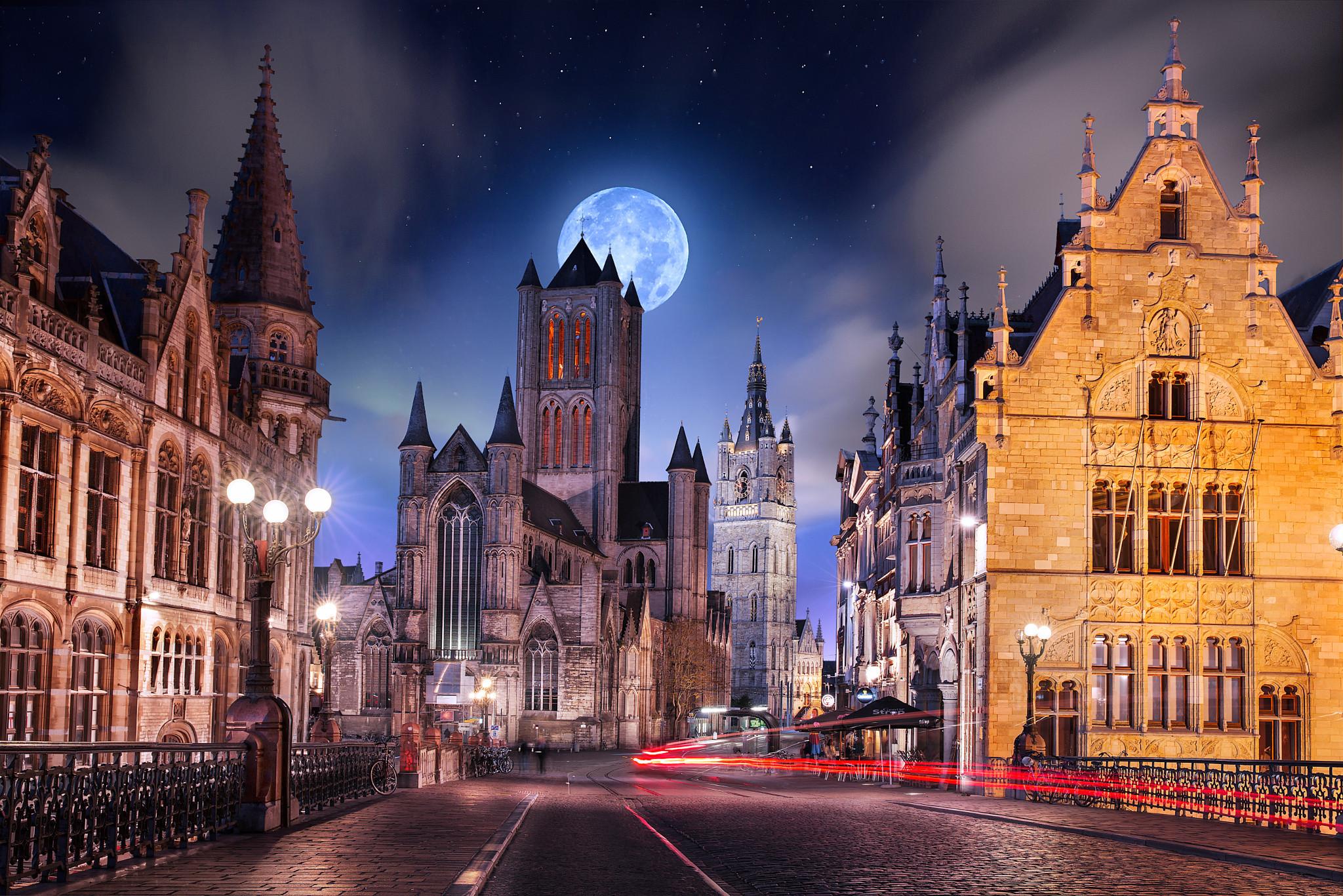 Gotham City – Belgium – Gent image work my instagram : ilhan1077  www.facebook.