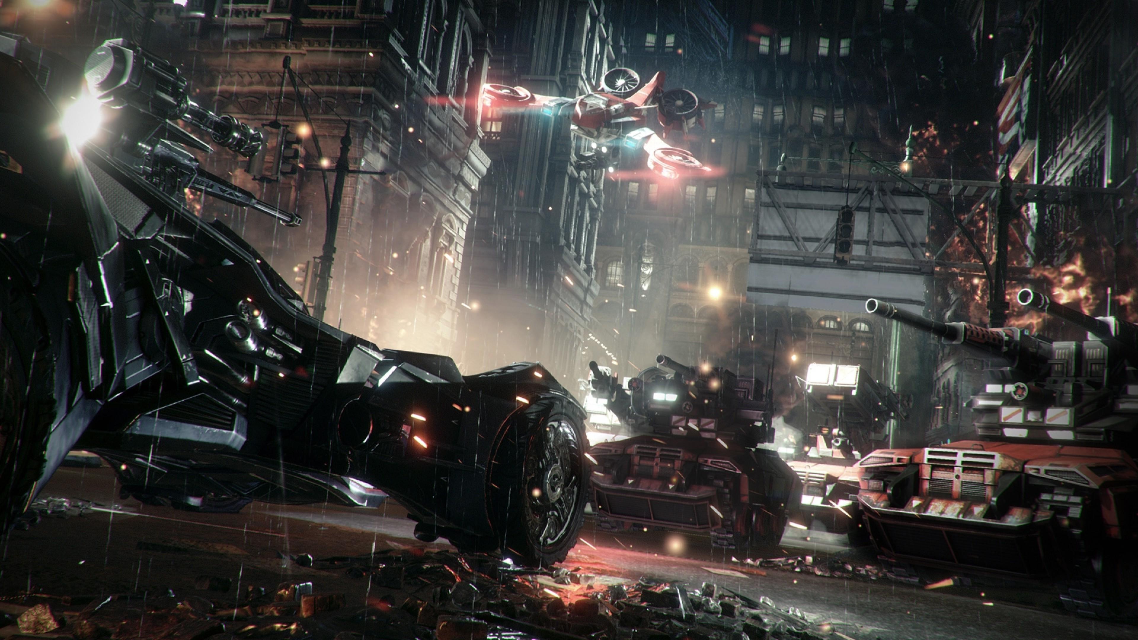 Batman: Arkham Knight, Rocksteady Studios, Batman, Gotham City, Video  Games, Batmobile Wallpapers HD / Desktop and Mobile Backgrounds