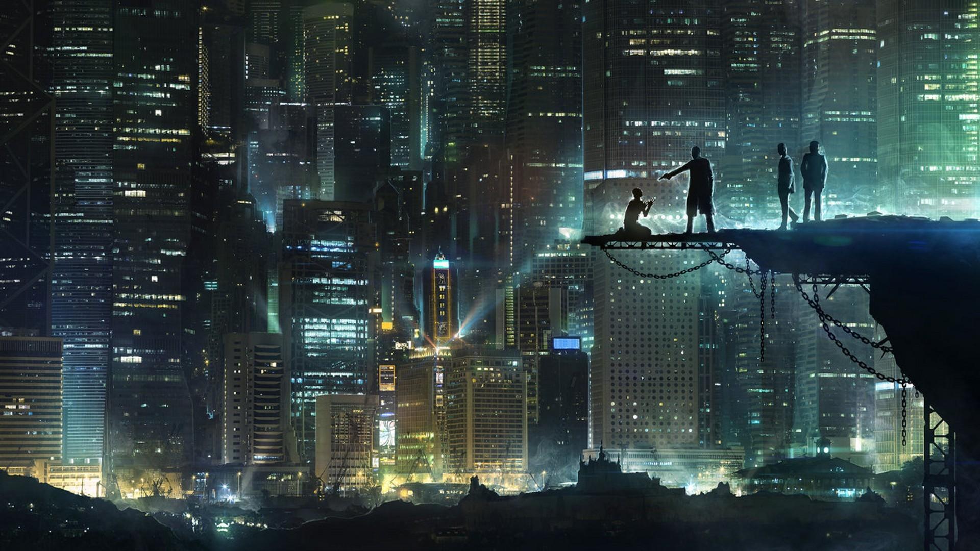 Gotham City Dealings Wallpaper