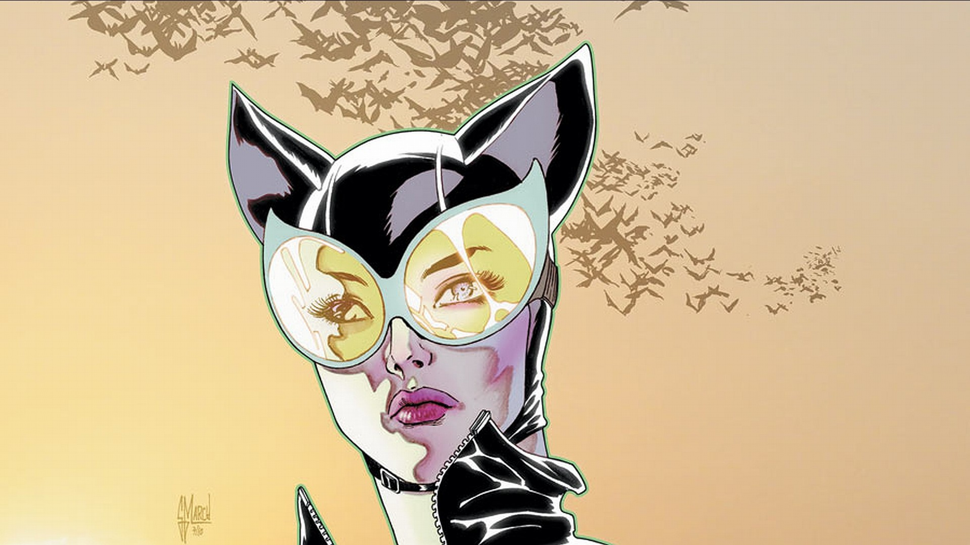 Comics – Gotham City Sirens Catwoman Wallpaper
