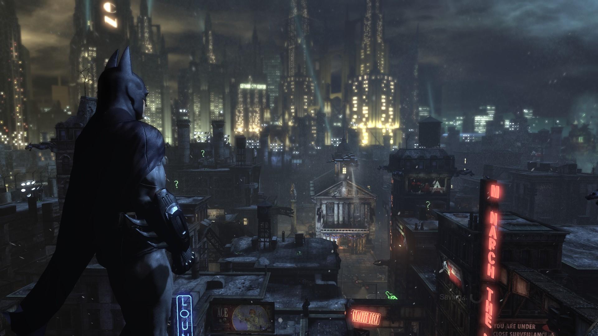 Download Batman Gotham City Background Images Wallpaper #73476