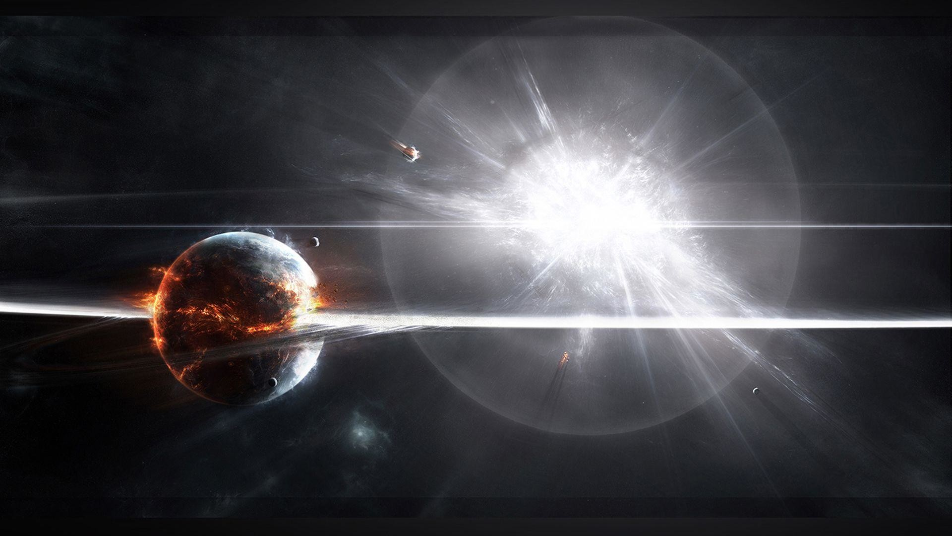 Wallpapers For > Supernova Wallpaper 1080p