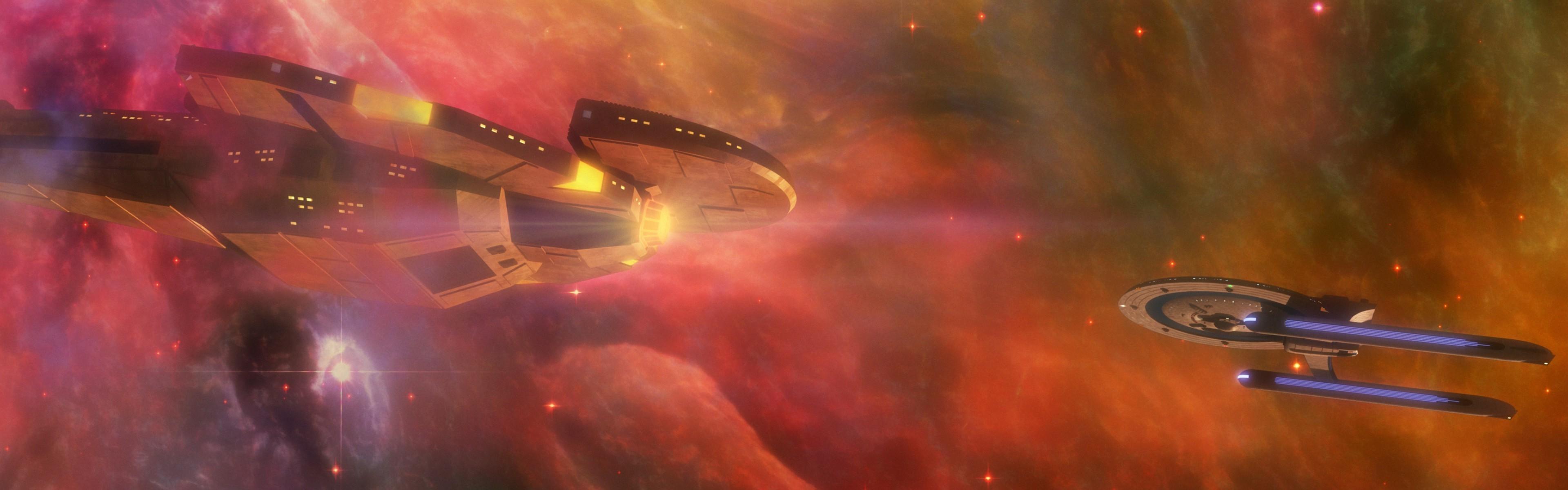 Star Trek, Space, Nebula, Stars, Spaceship, Dual Monitors, Multiple Display  Wallpapers HD / Desktop and Mobile Backgrounds
