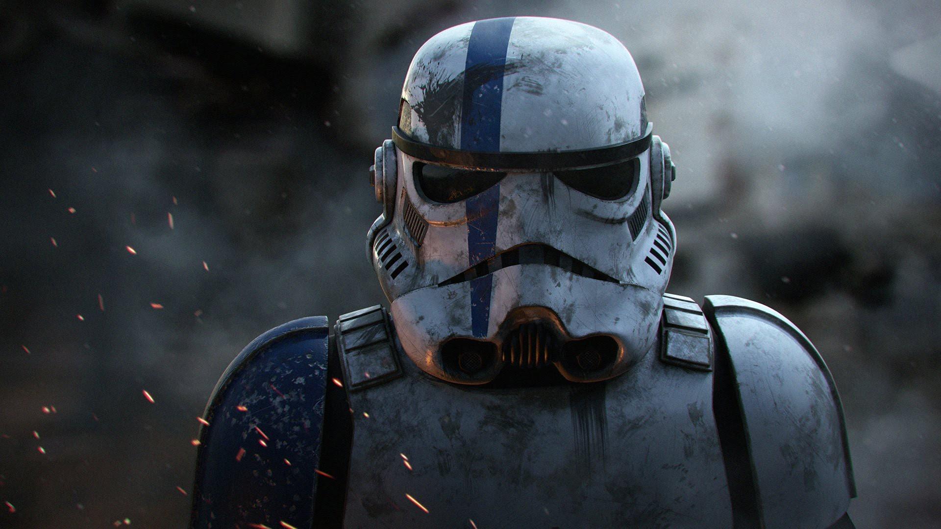 Art/MediaA Proud Imperial Stormtrooper After Battling Rebel Scum.