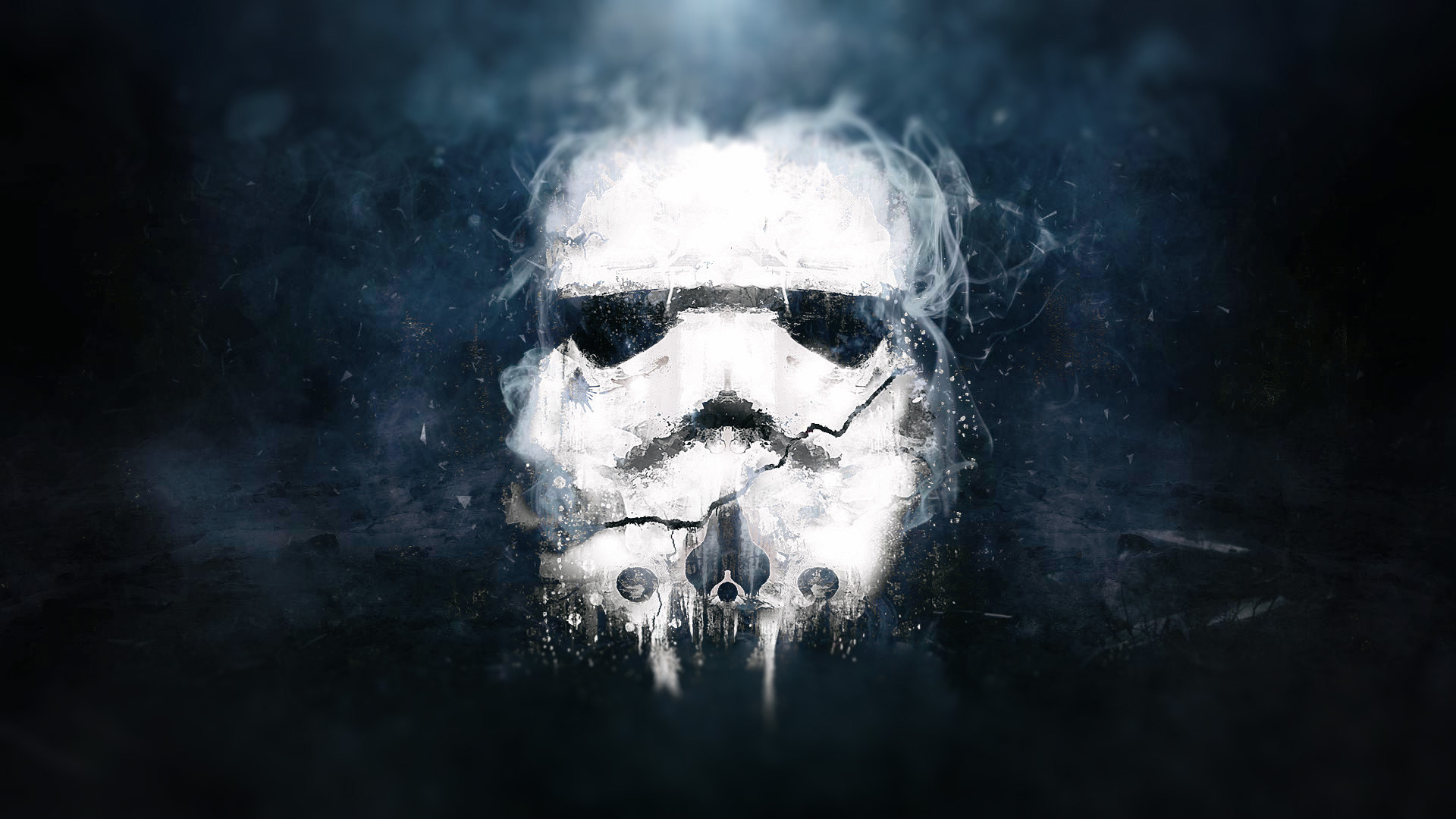Spooky Stormtrooper Wallpaper
