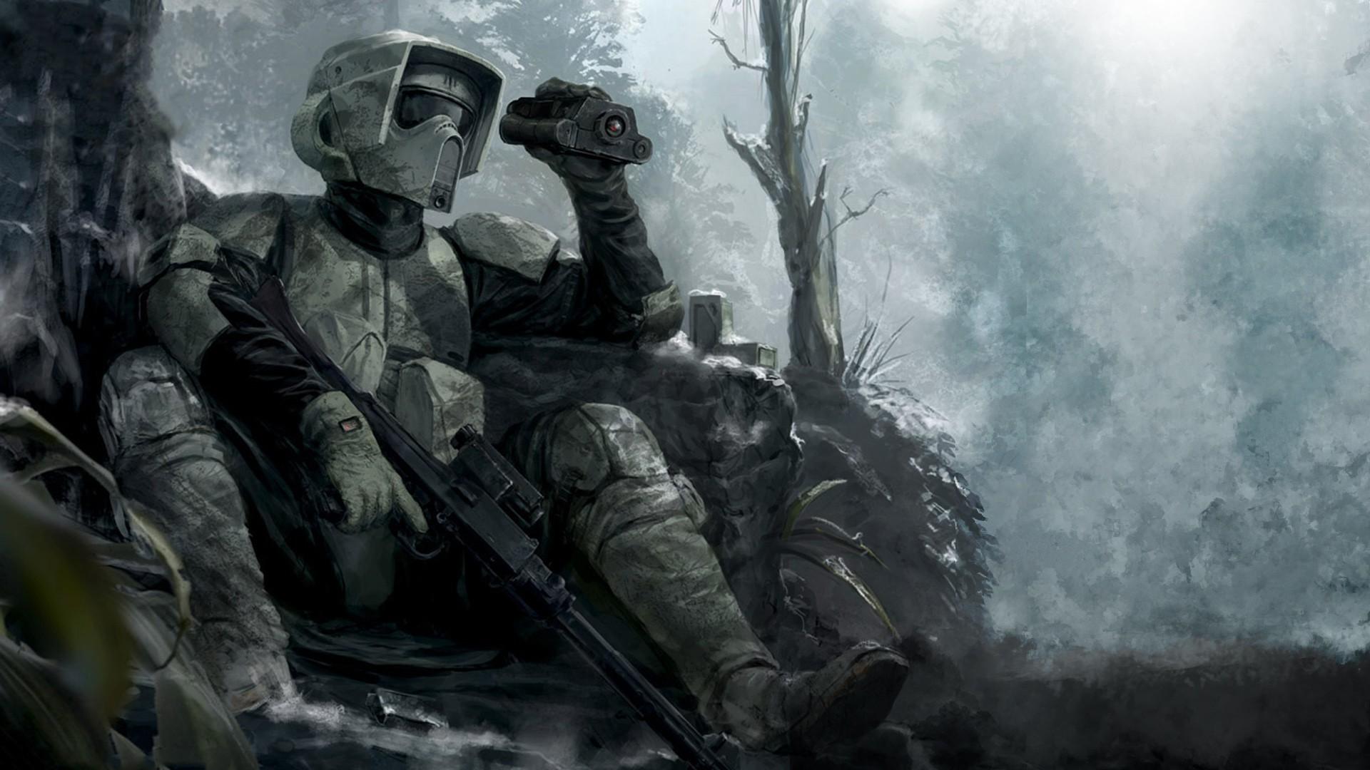 Scout trooper – Star Wars wallpaper #14772