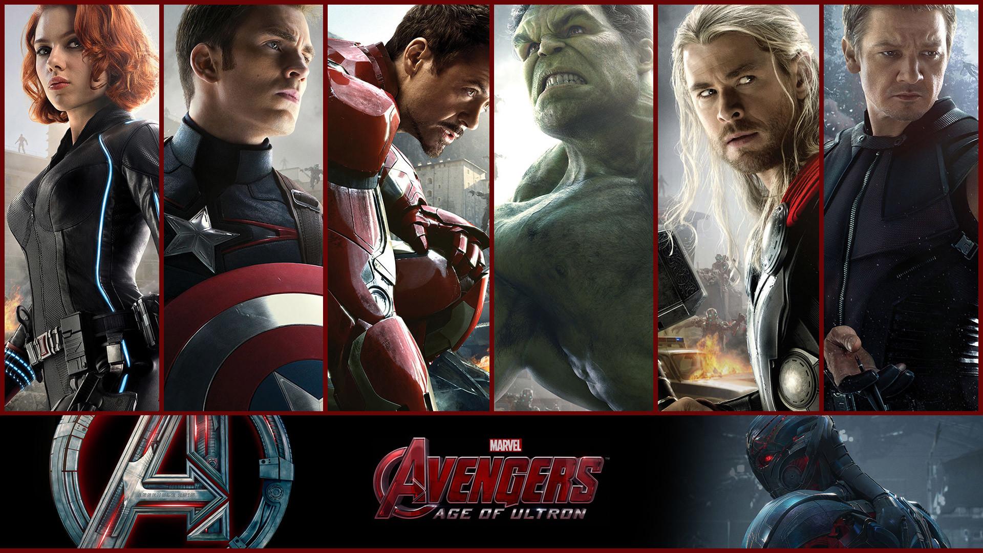 Avengers Age of Ultron 2015 Heroes Wallpaper HD