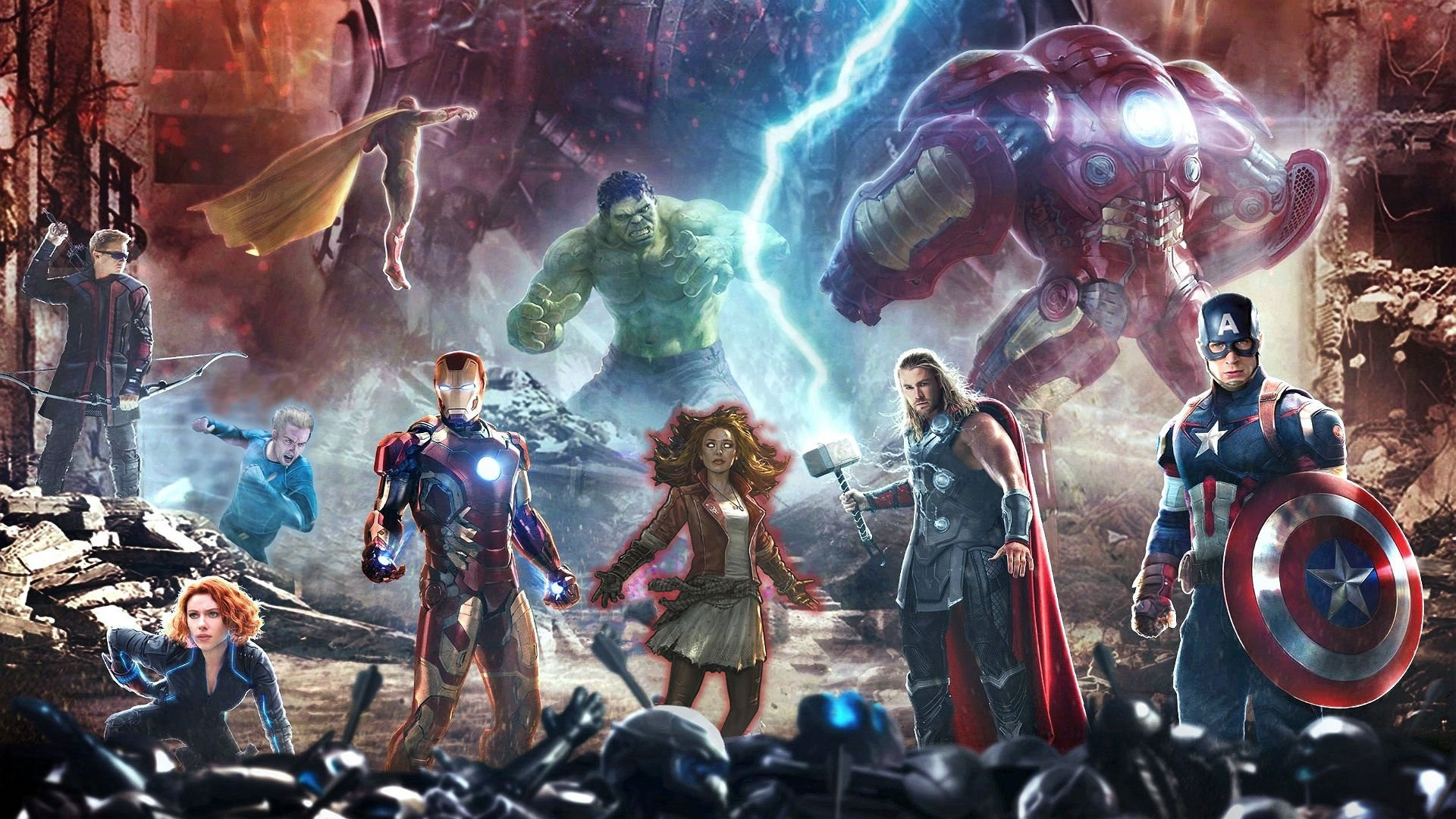 Marvels Avengers Age of Ultron HD Wide Wallpaper for Widescreen (68  Wallpapers)