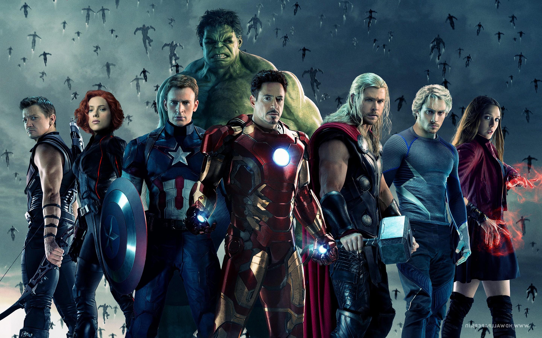 Постеры с мстителями